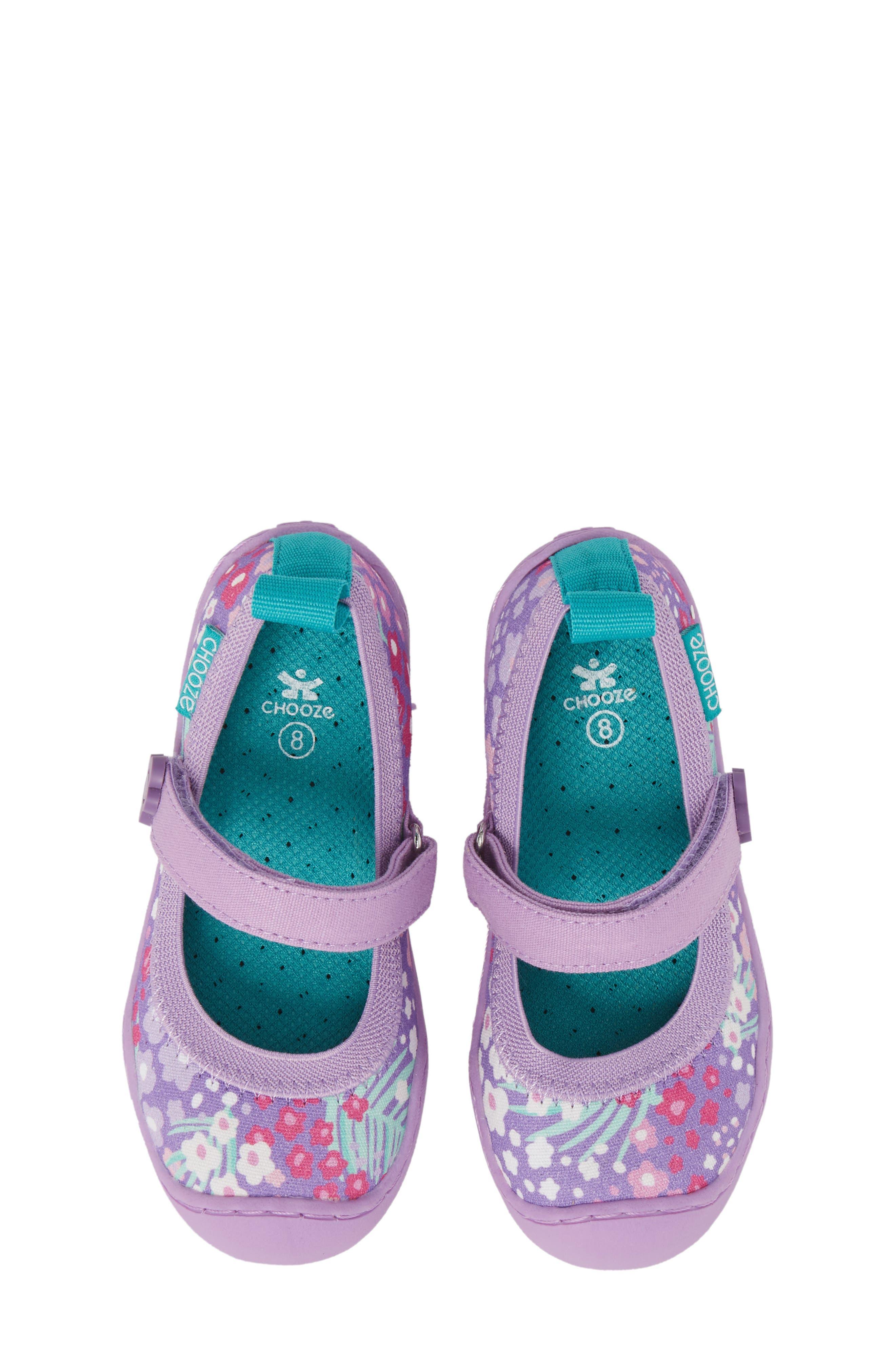 CHOOZE Steady Mary Jane Sneaker (Baby, Walker, Toddler & Little Kid)