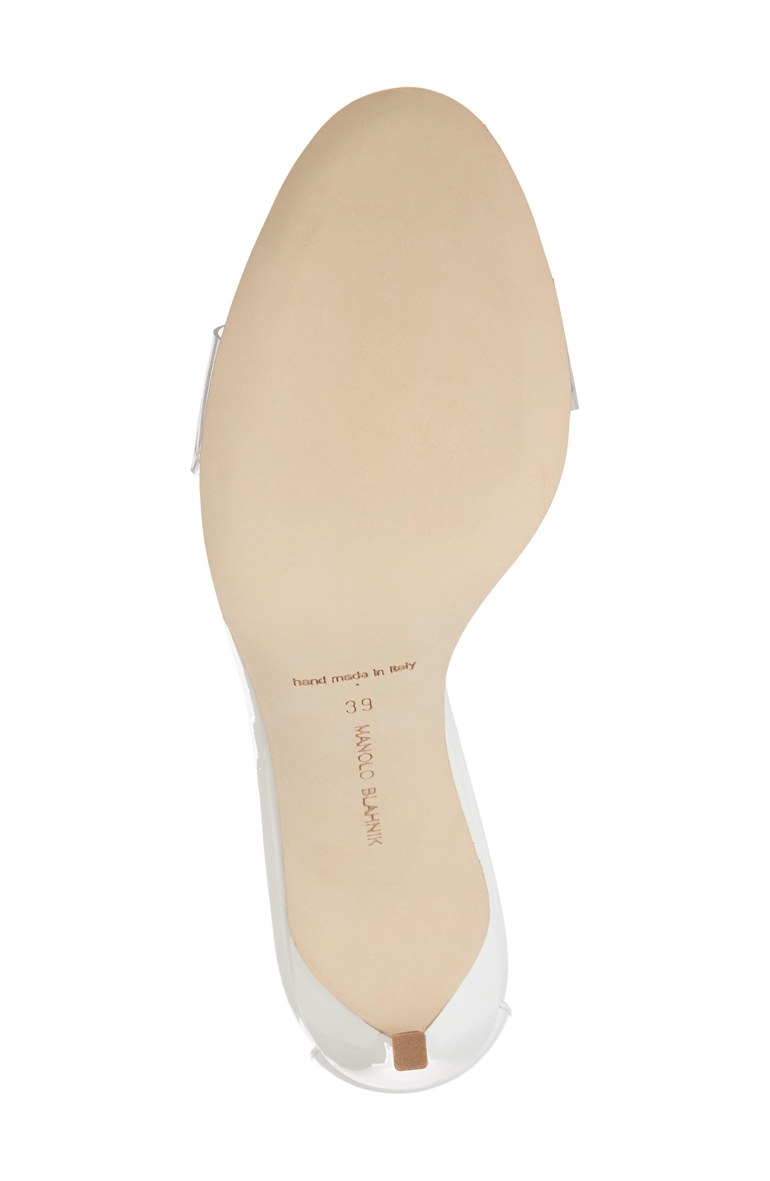 Estro Ankle Tie Sandal,                             Alternate thumbnail 6, color,                             White Patent