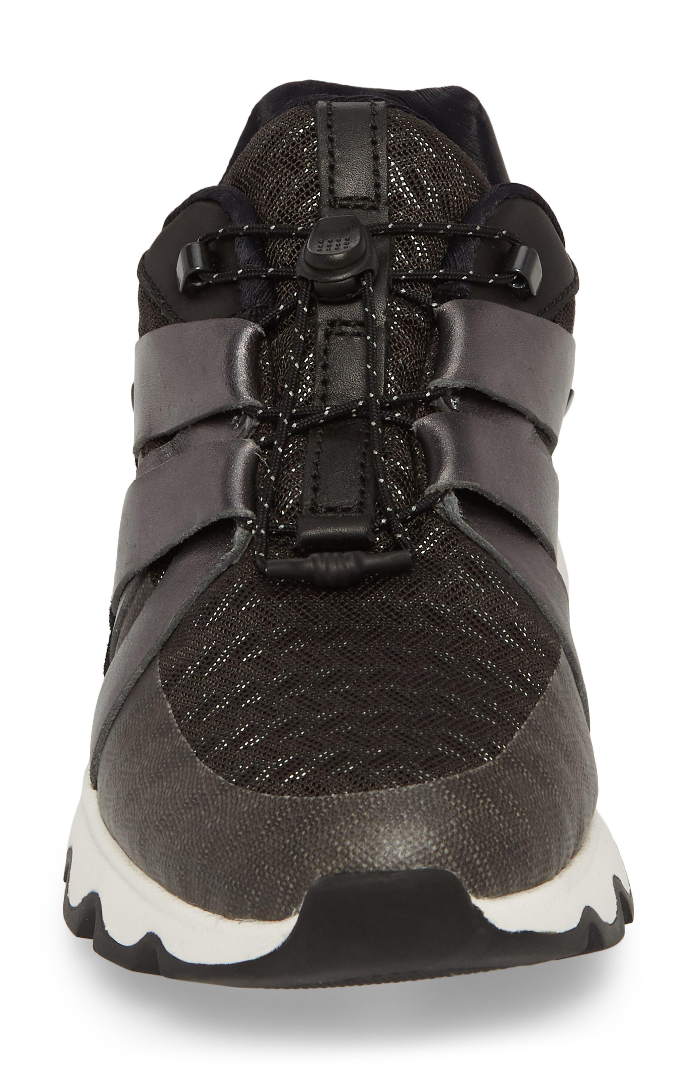 Kinetic Speed Sneaker,                             Alternate thumbnail 4, color,                             Black/ Sea Salt