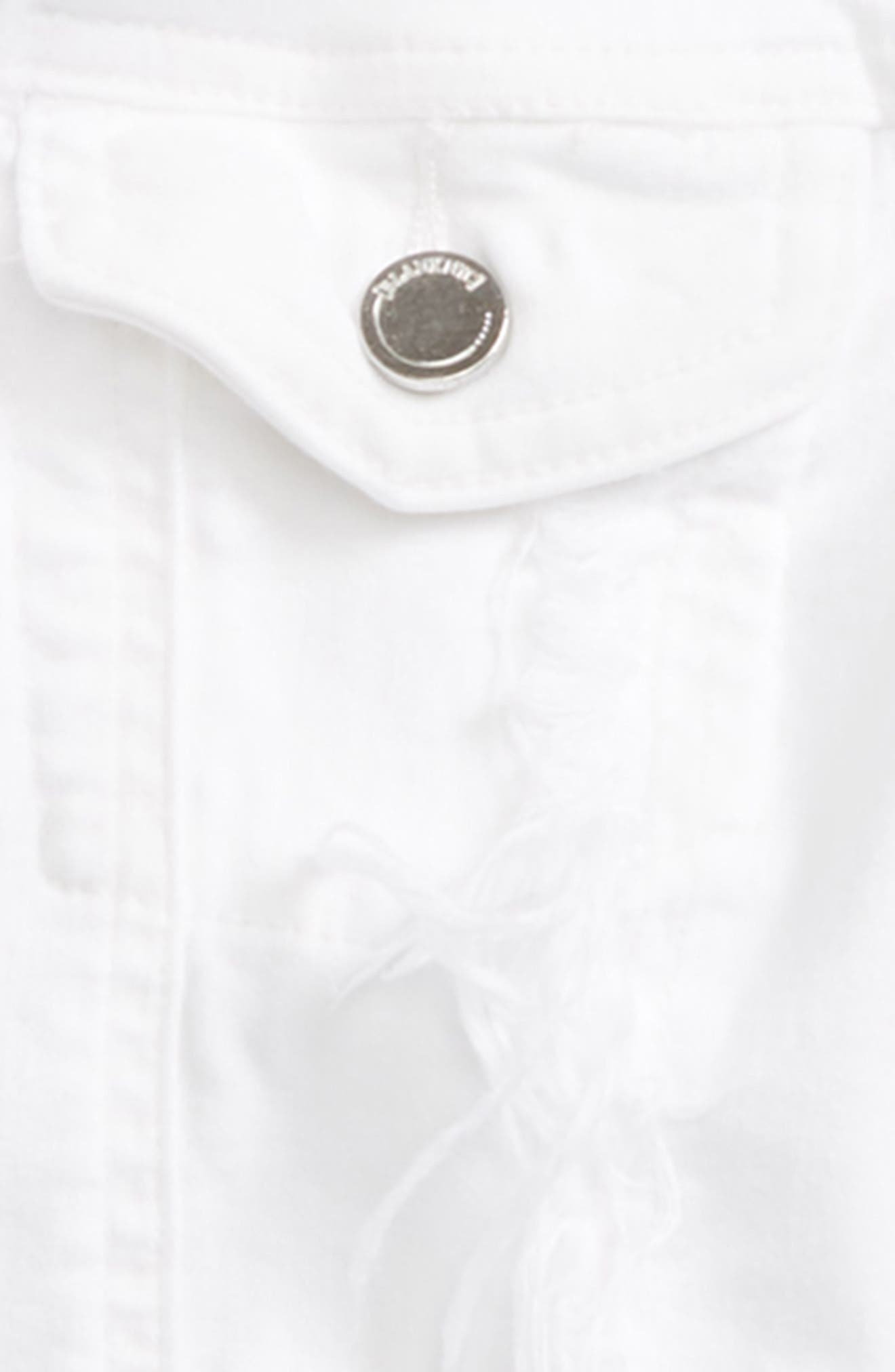 Distressed Denim Jacket,                             Alternate thumbnail 2, color,                             Heartbreaker