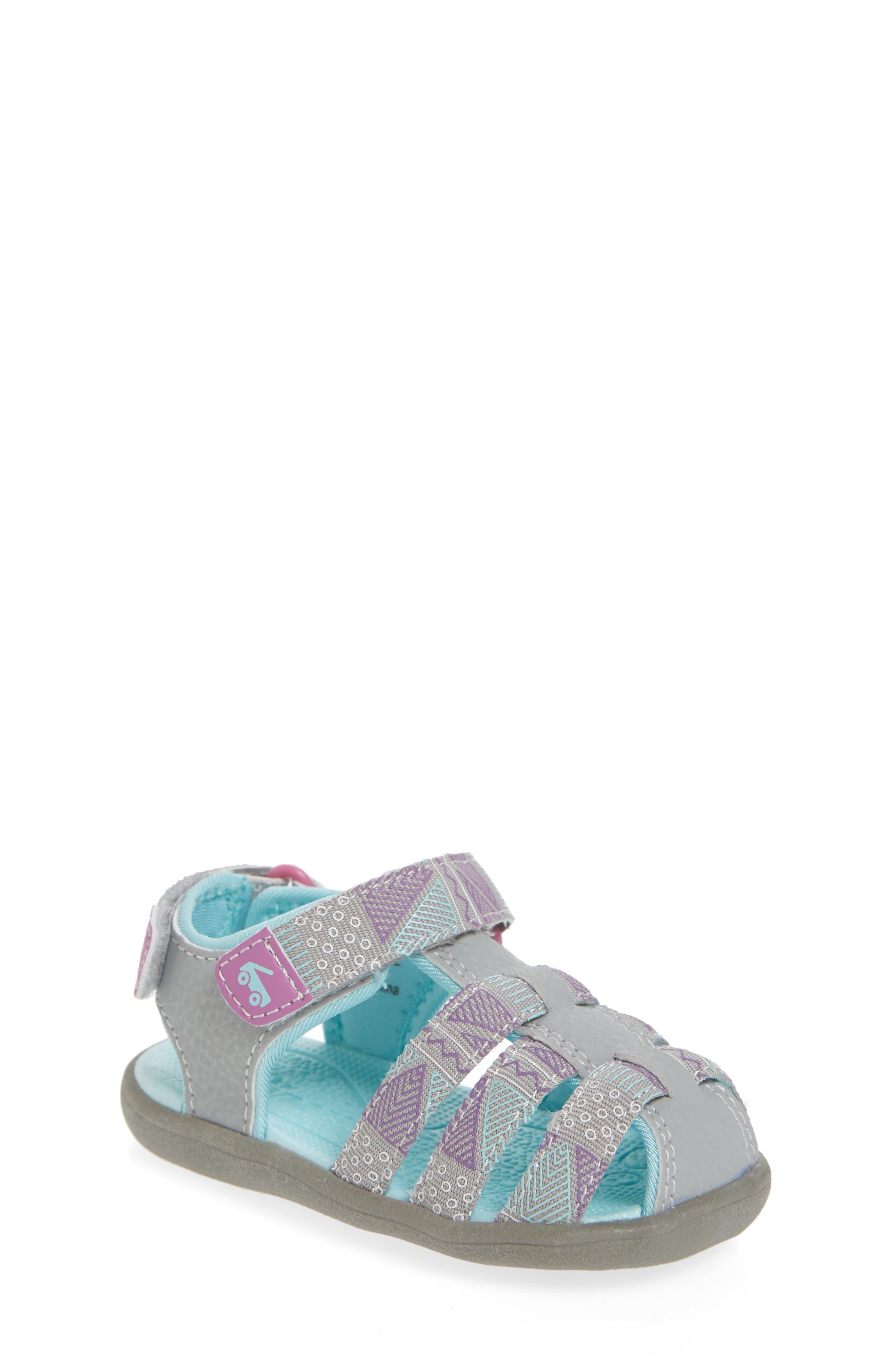 See Kai Run Paley Fisherman Sandal (Baby, Walker & Toddler)