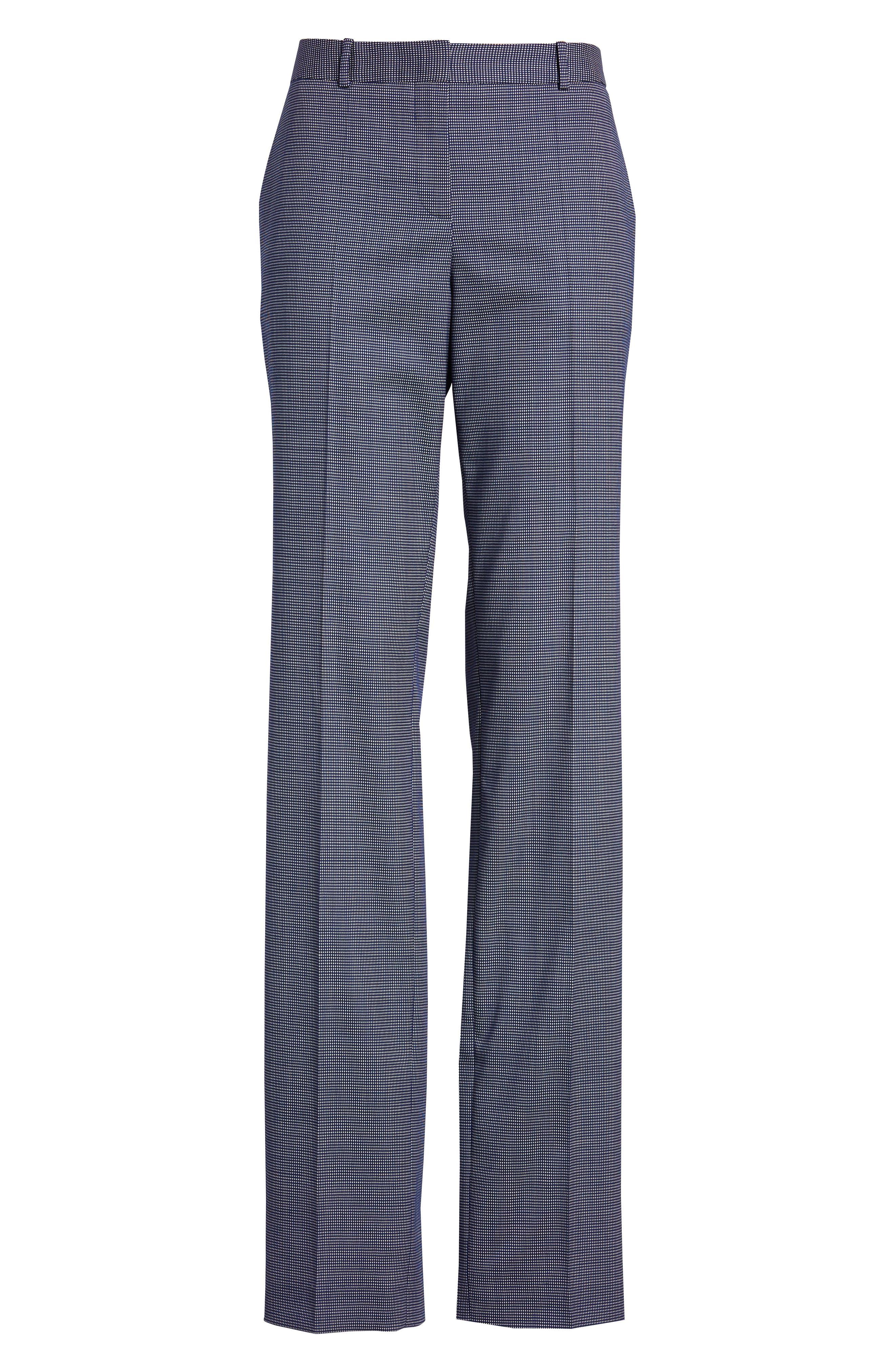 Tamea Minidessin Suit Pants,                             Alternate thumbnail 7, color,                             Blue Fantasy