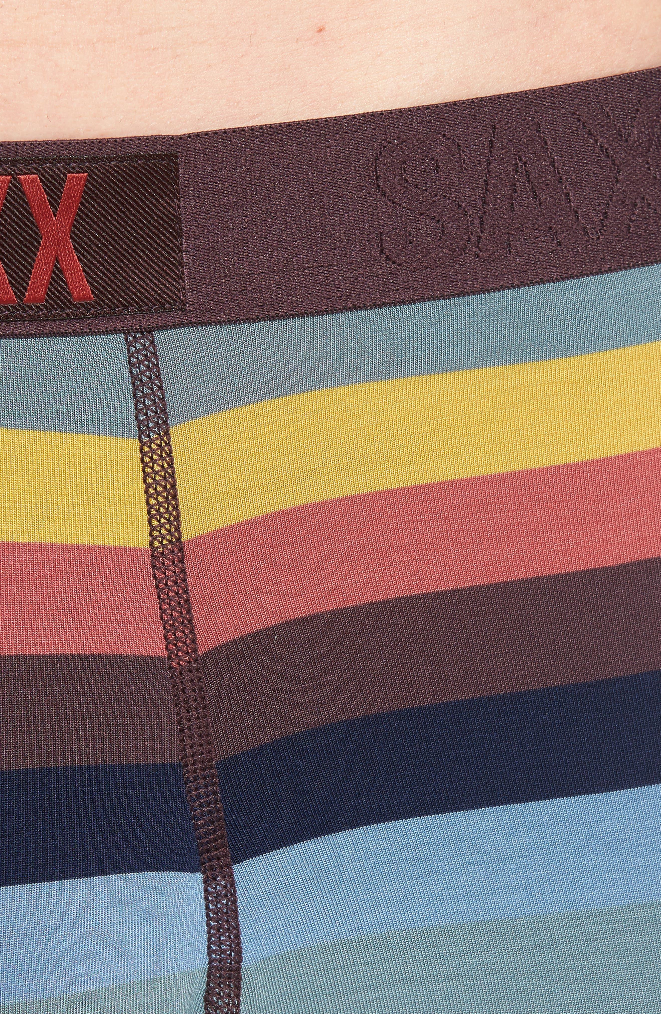 Ultra Stretch Boxer Briefs,                             Alternate thumbnail 4, color,                             Cabana Stripe
