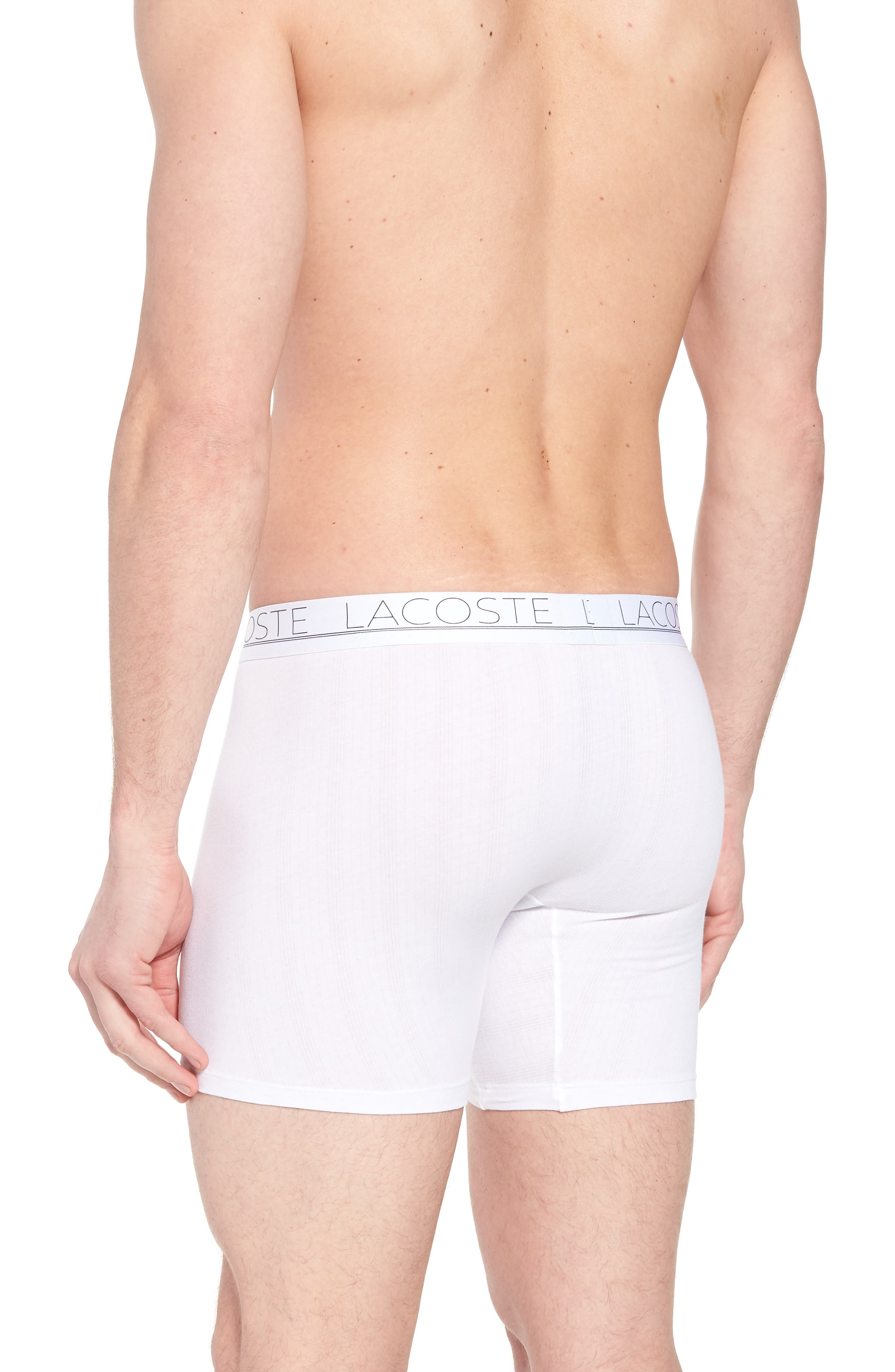 2-Pack Superfine Boxer Briefs,                             Alternate thumbnail 2, color,                             White