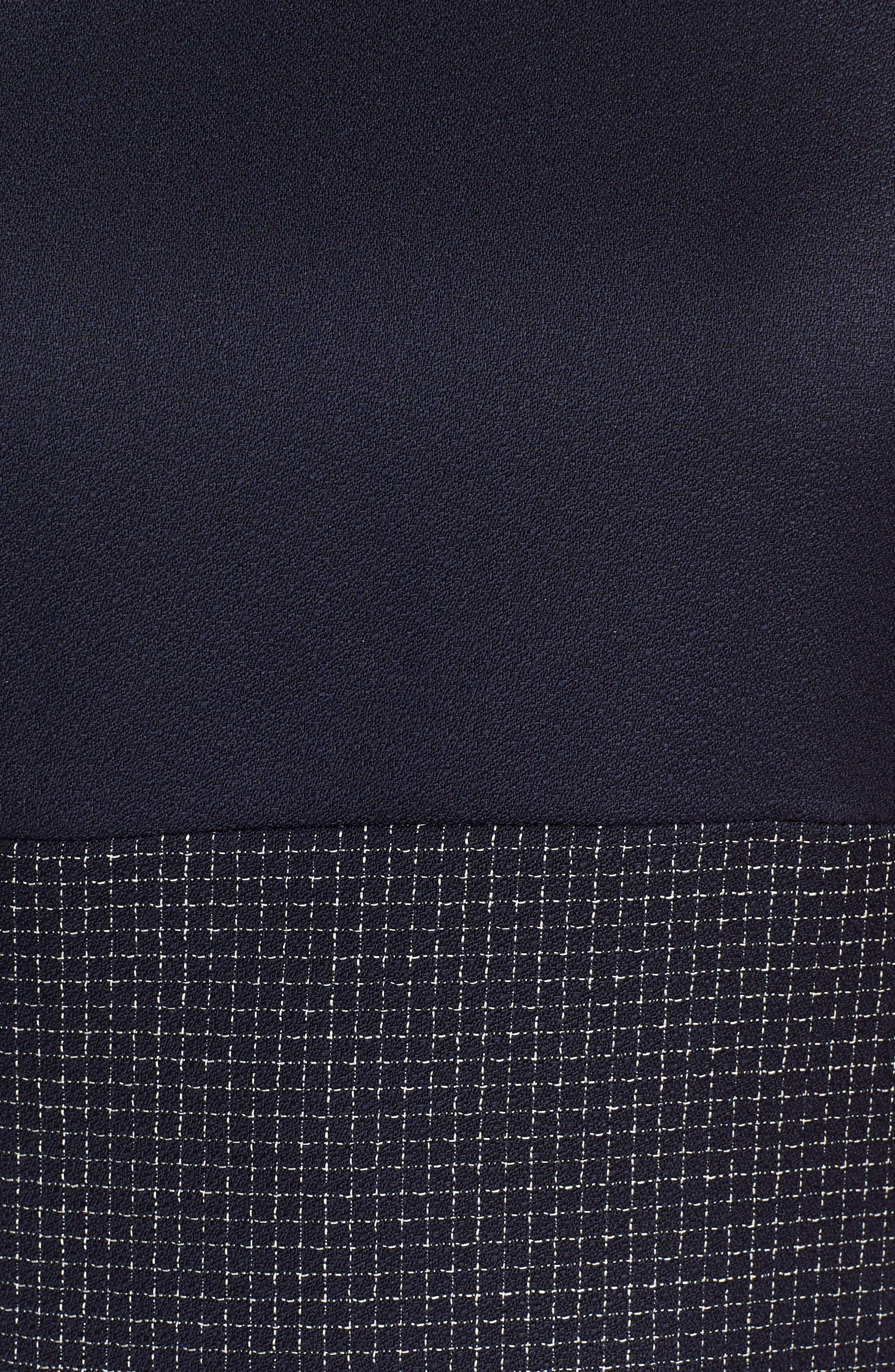 Alternate Image 5  - BOSS Dibena Windowpane Sheath Dress (Regular & Petite)