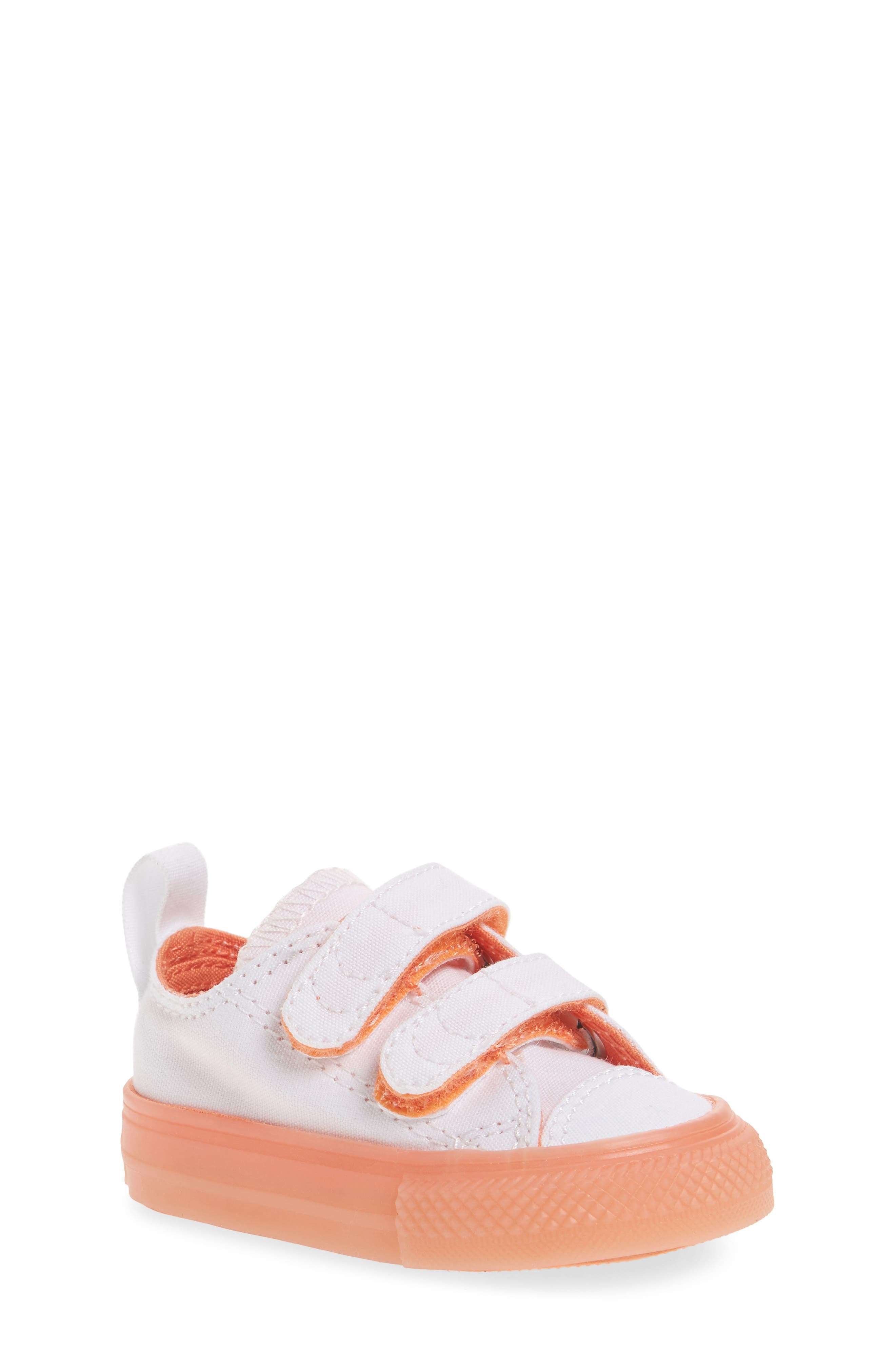 Chuck Taylor<sup>®</sup> All Star<sup>®</sup> Jelly Sneaker,                             Main thumbnail 1, color,                             Orange