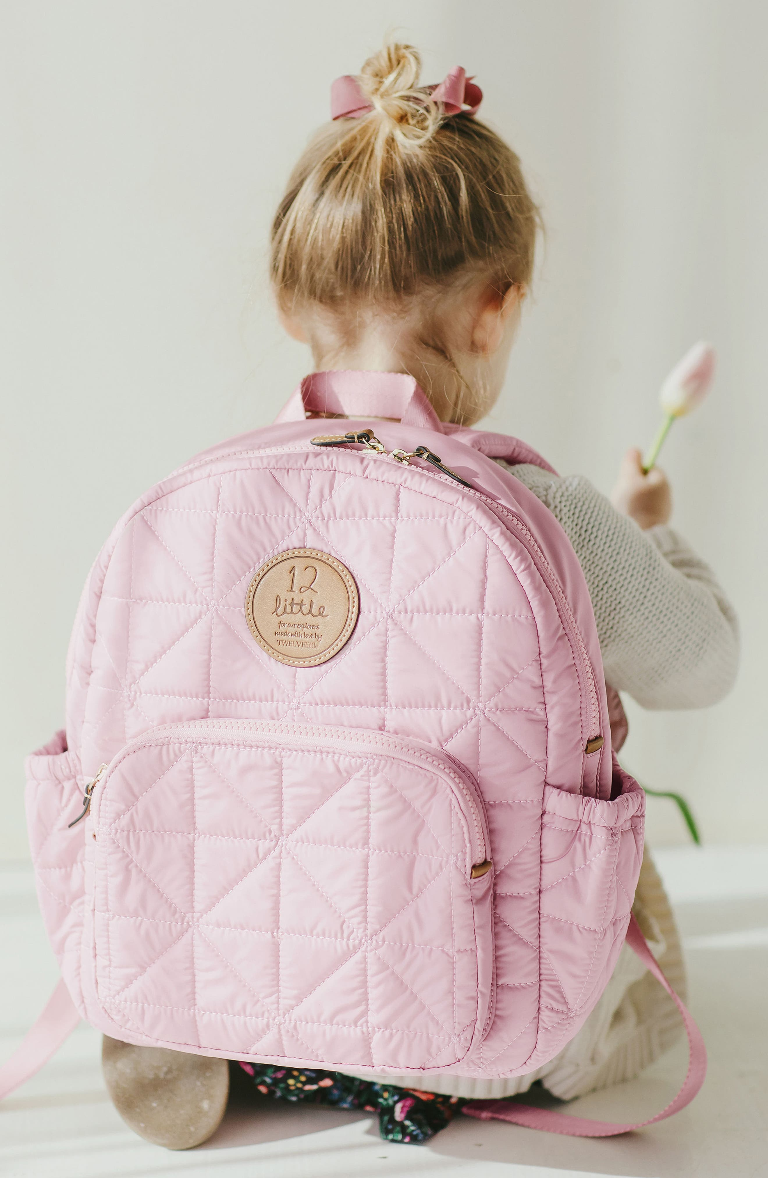 'Companion Backpack' Quilted Nylon Diaper Bag,                             Alternate thumbnail 6, color,