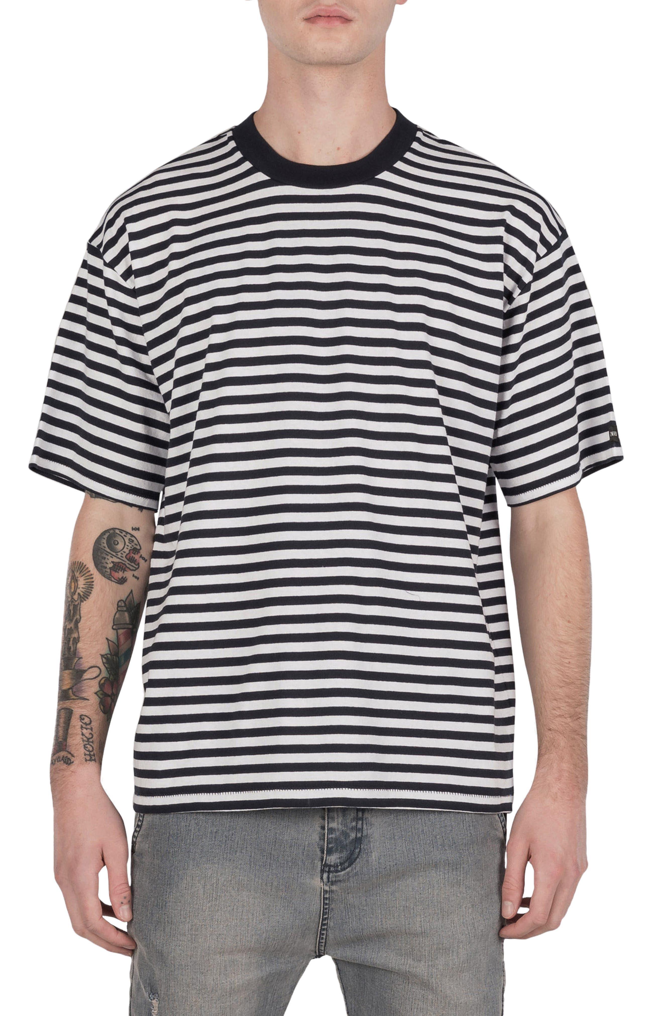 ZABEROBE Stripe Box T-Shirt