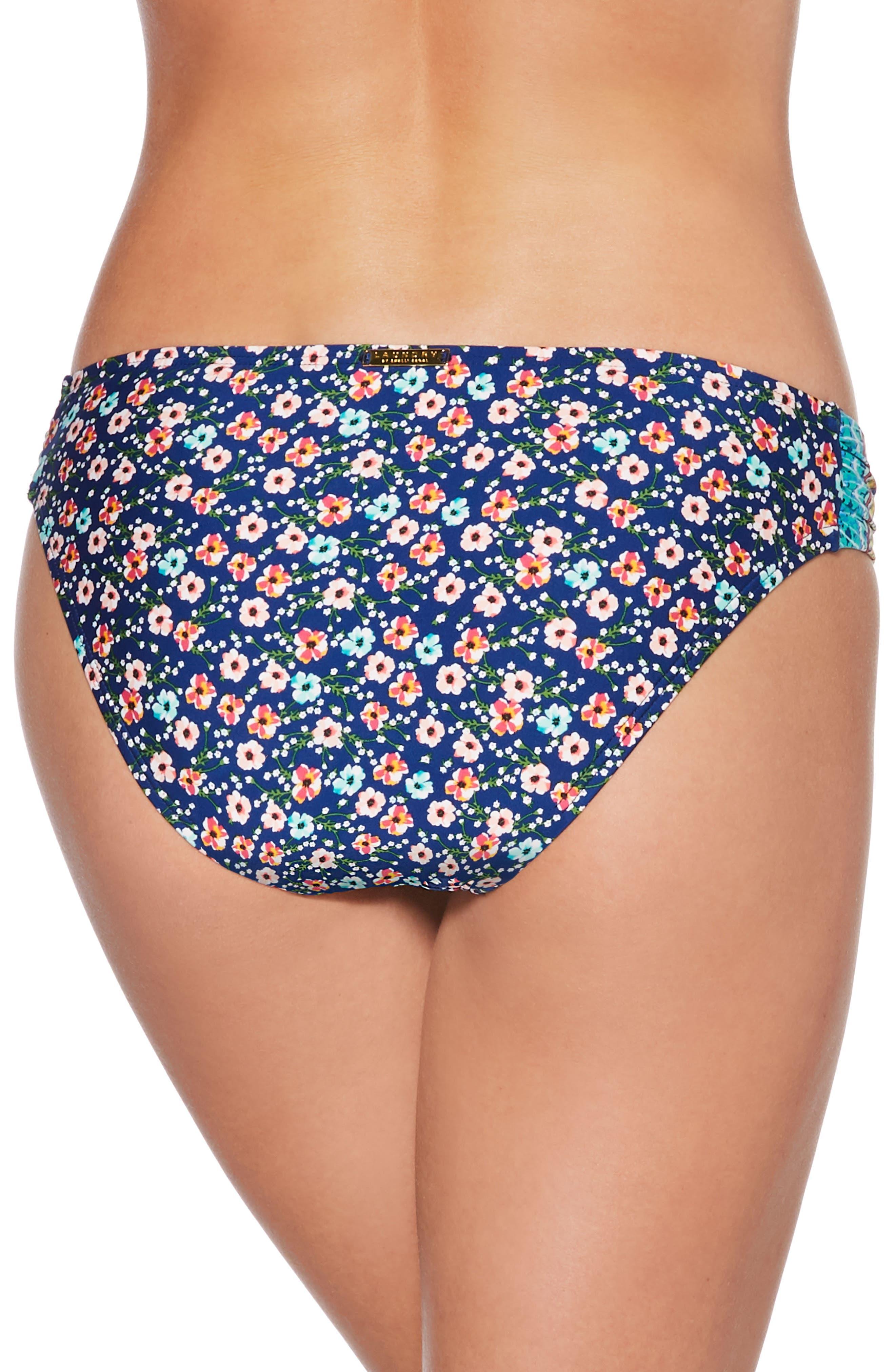 Bikini Bottoms,                             Alternate thumbnail 2, color,                             Blue Multi
