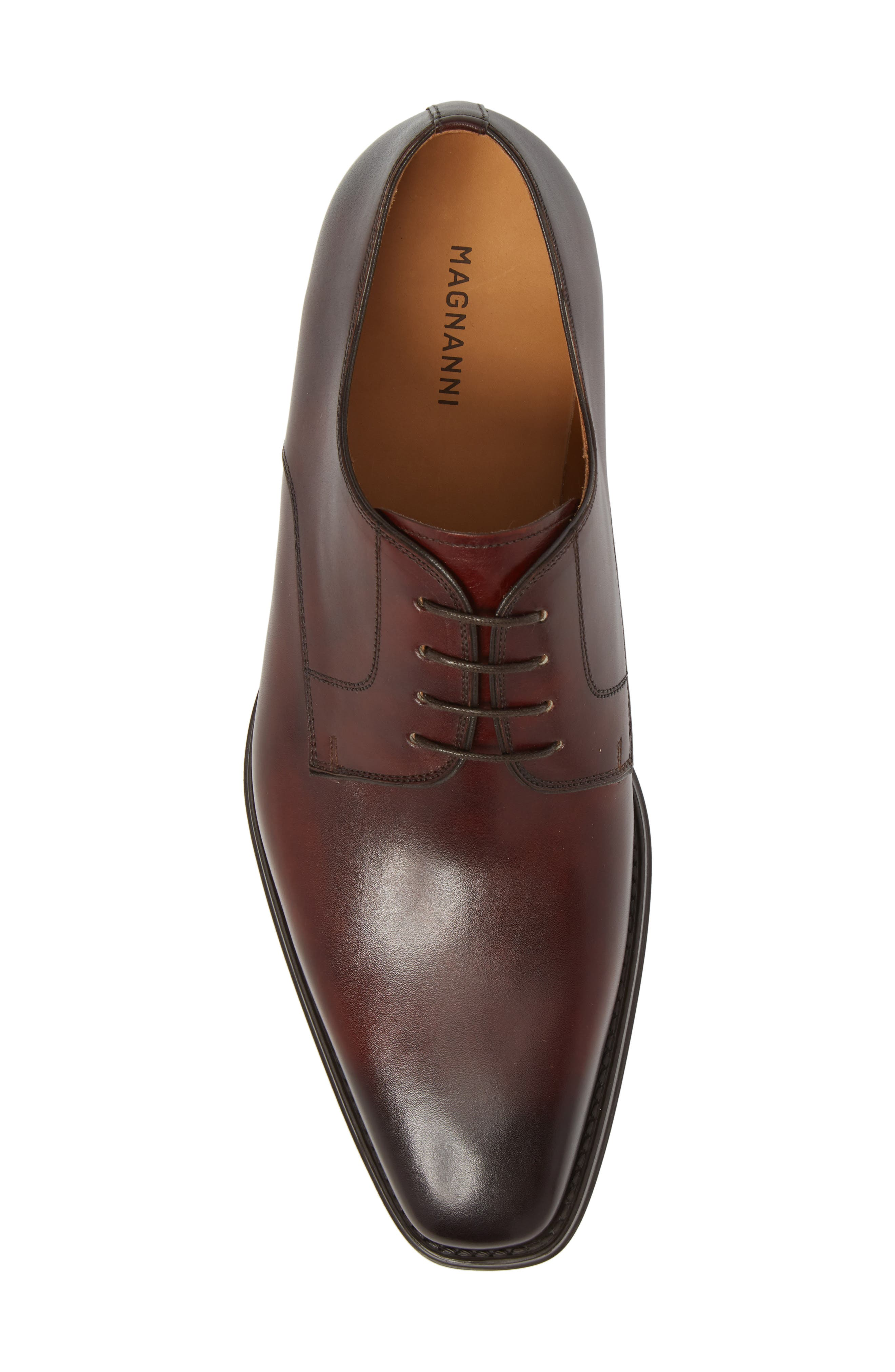 Colo II Plain Toe Derby,                             Alternate thumbnail 5, color,                             Mid Brown Leather