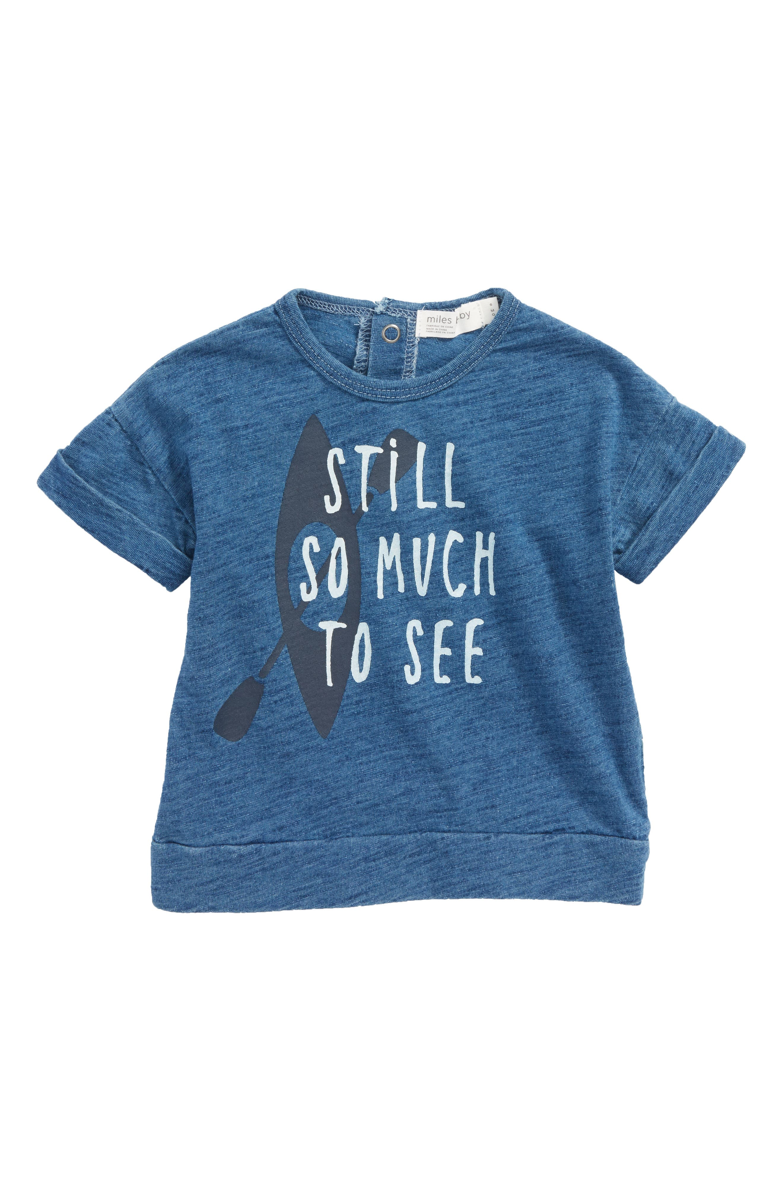 So Much To See T-Shirt,                         Main,                         color, Blue