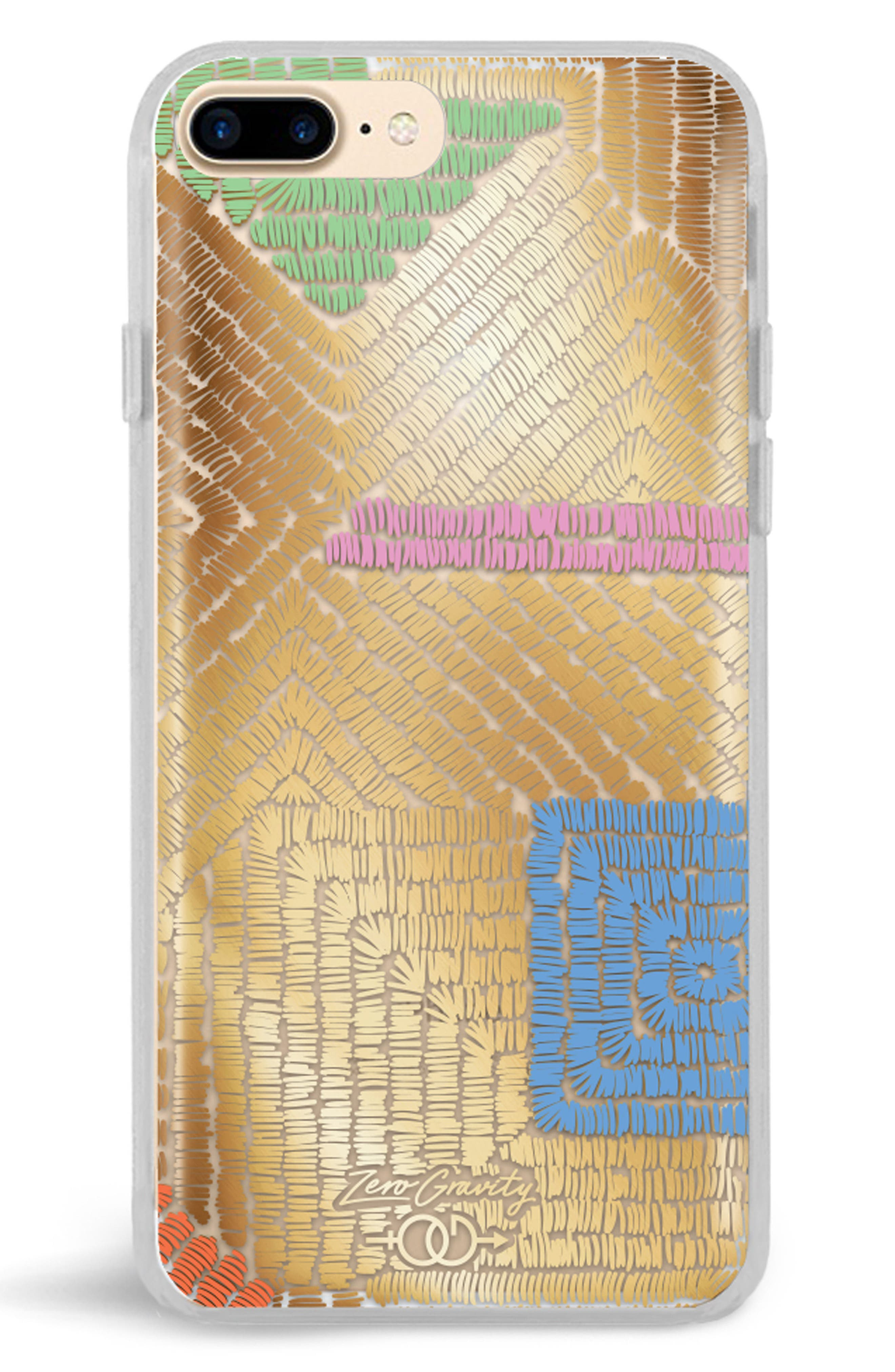 Maze iPhone 7/8 & 7/8 Plus Case,                         Main,                         color, Gold Multi