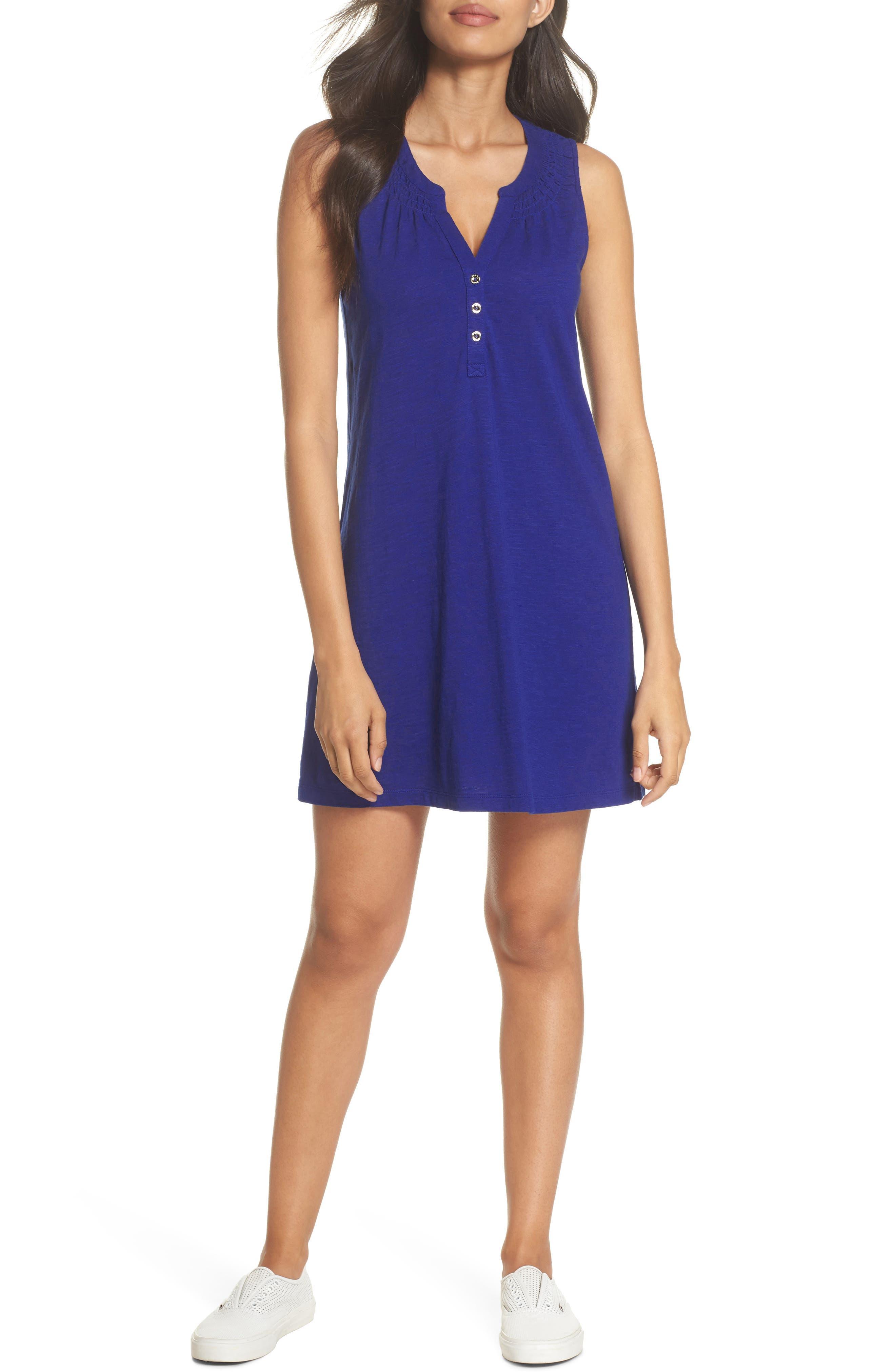 Essie Shift Dress,                         Main,                         color, Twilight Blue