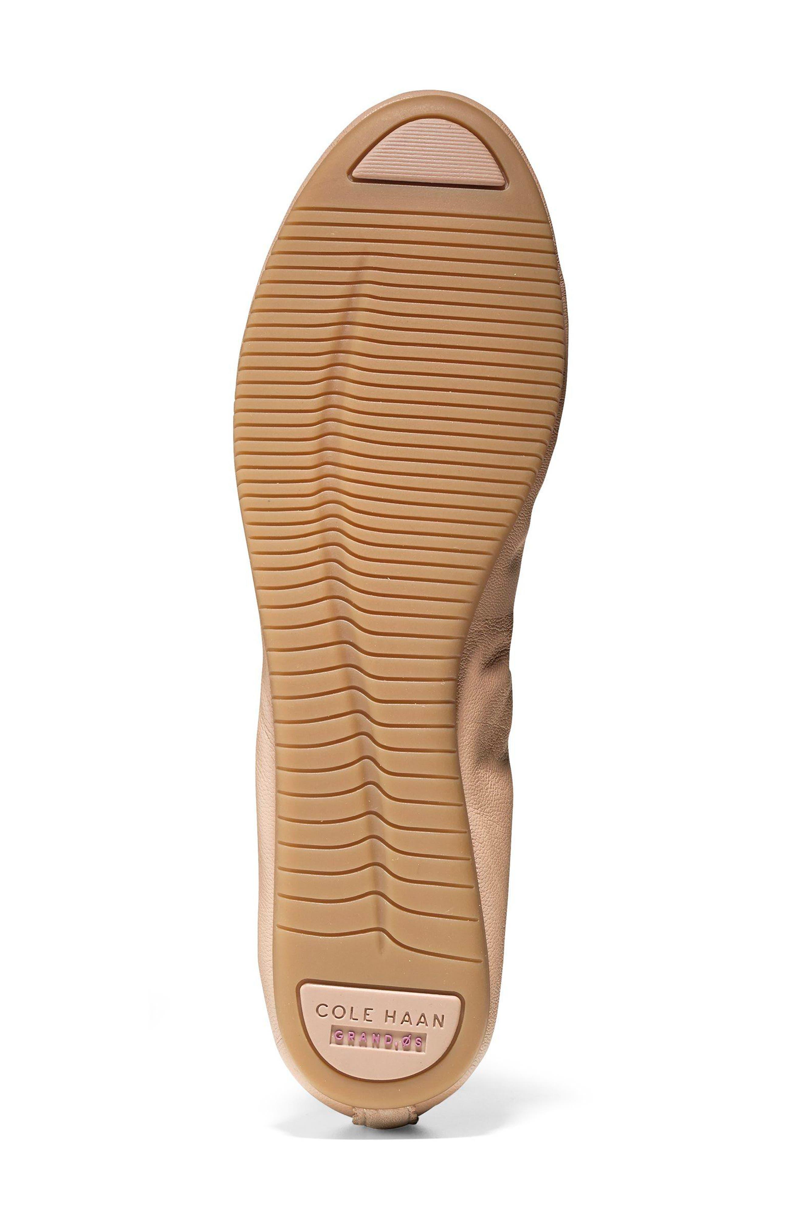 Studiogrand Ballet Flat,                             Alternate thumbnail 5, color,                             Maple Sugar Leather
