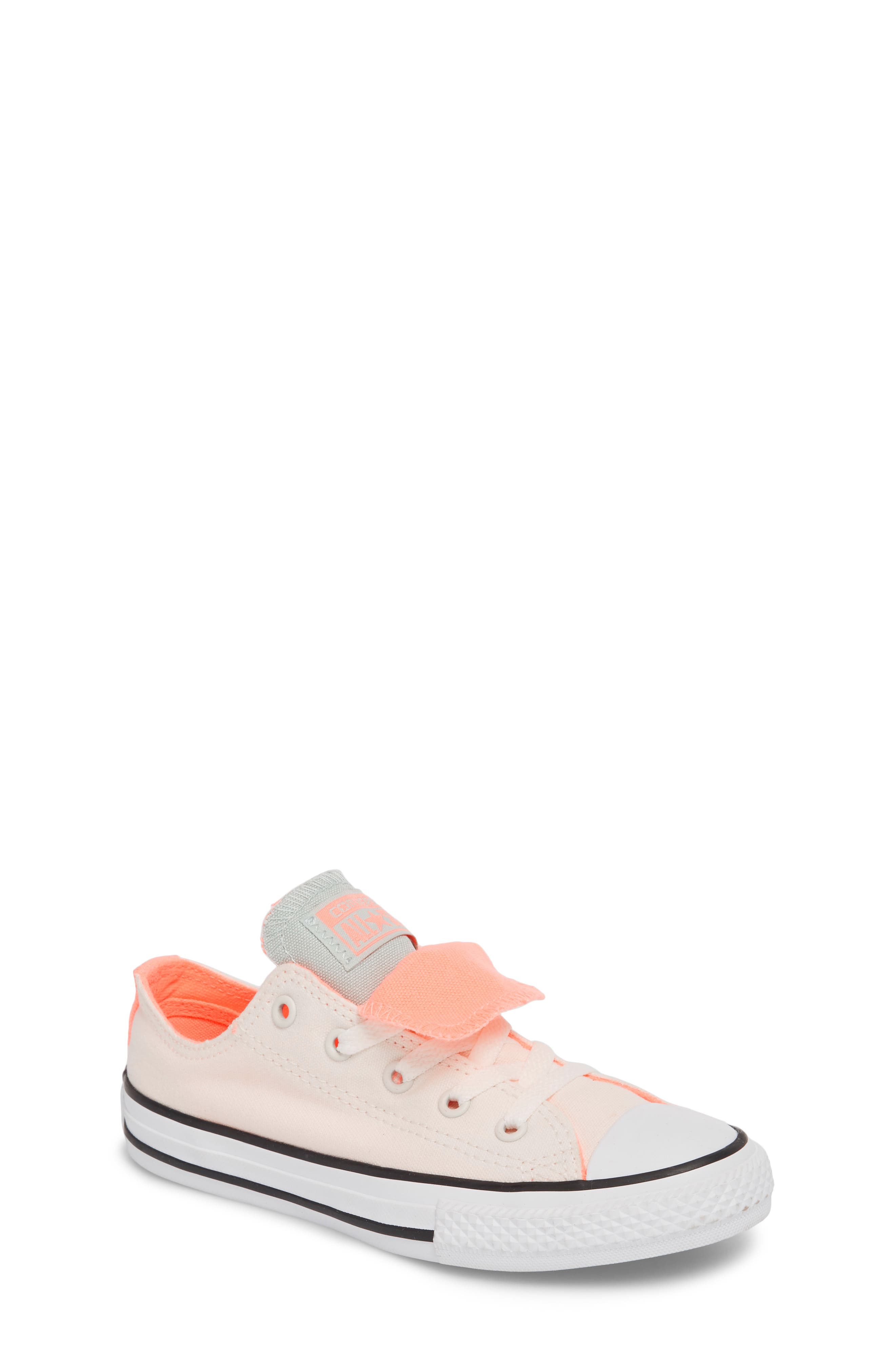 Converse Chuck Taylor® All Star® Double Tongue Sneaker (Baby, Little Kid & Big Kid)