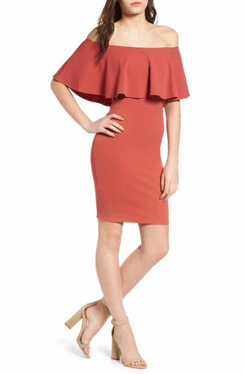 Women 39 s brown dresses nordstrom for Brown dresses for wedding guest