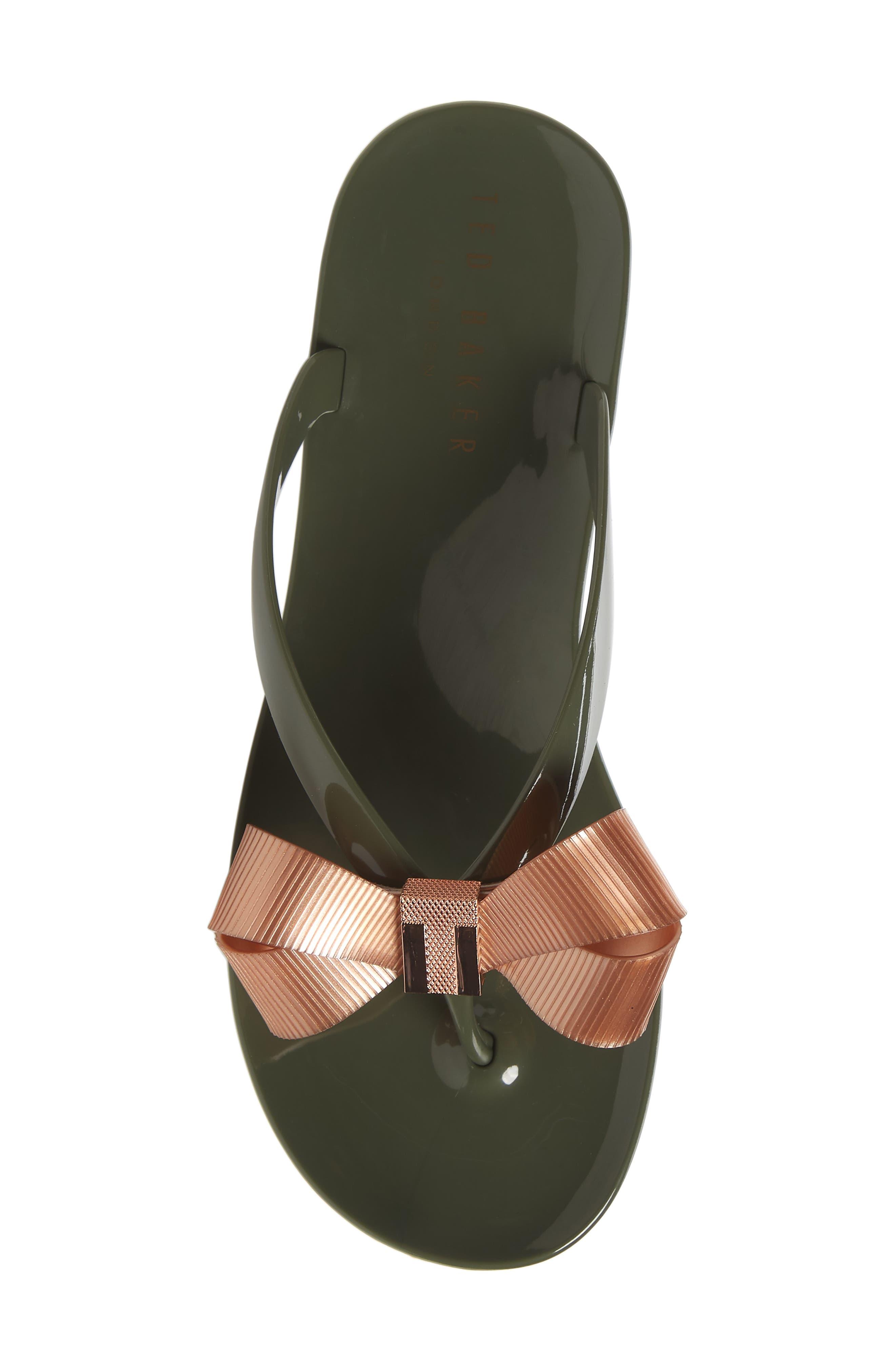 Alternate Image 5  - Ted Baker London Suszie Flip Flop (Women)