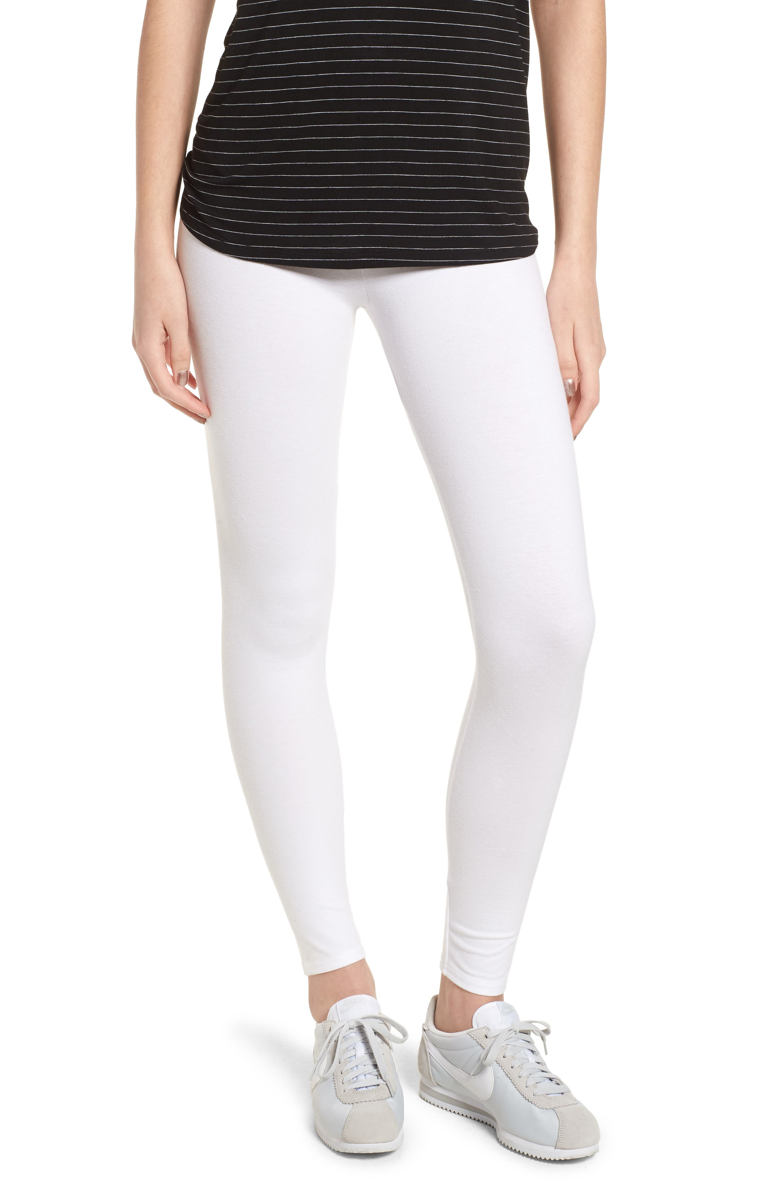 Go-To High Waist Leggings,                         Main,                         color, White