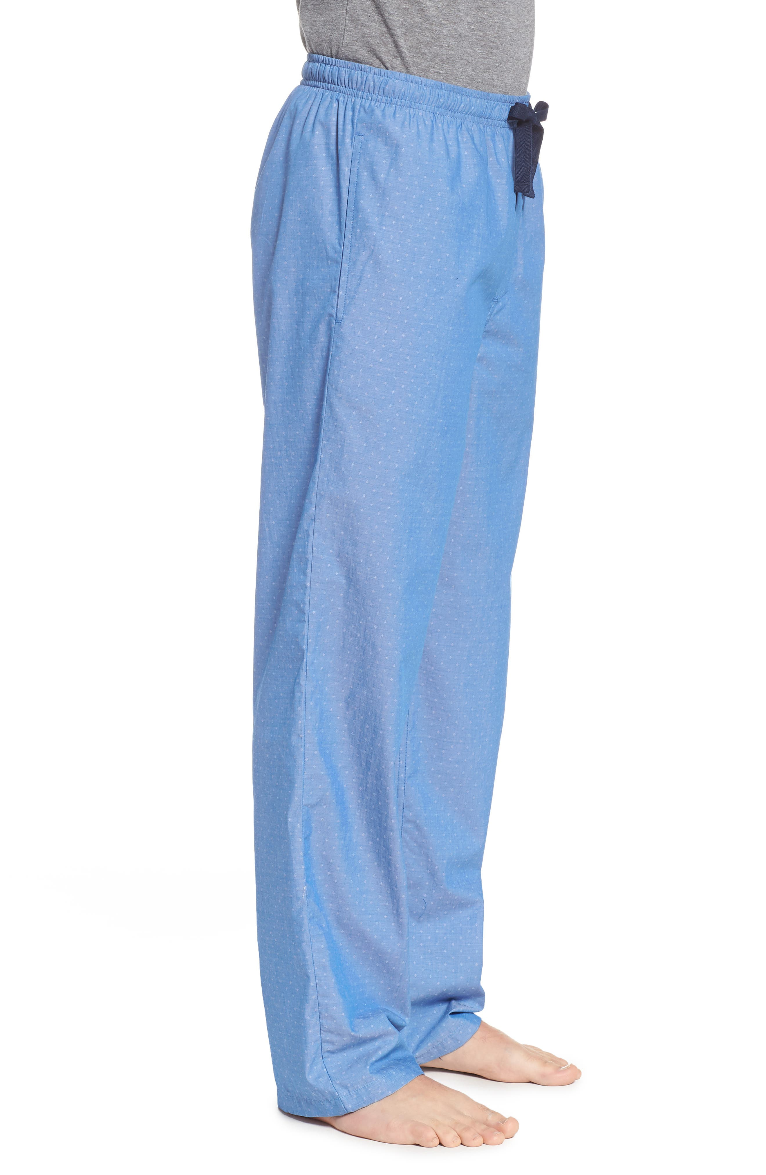 Alternate Image 3  - Nordstrom Men's Shop Poplin Lounge Pants