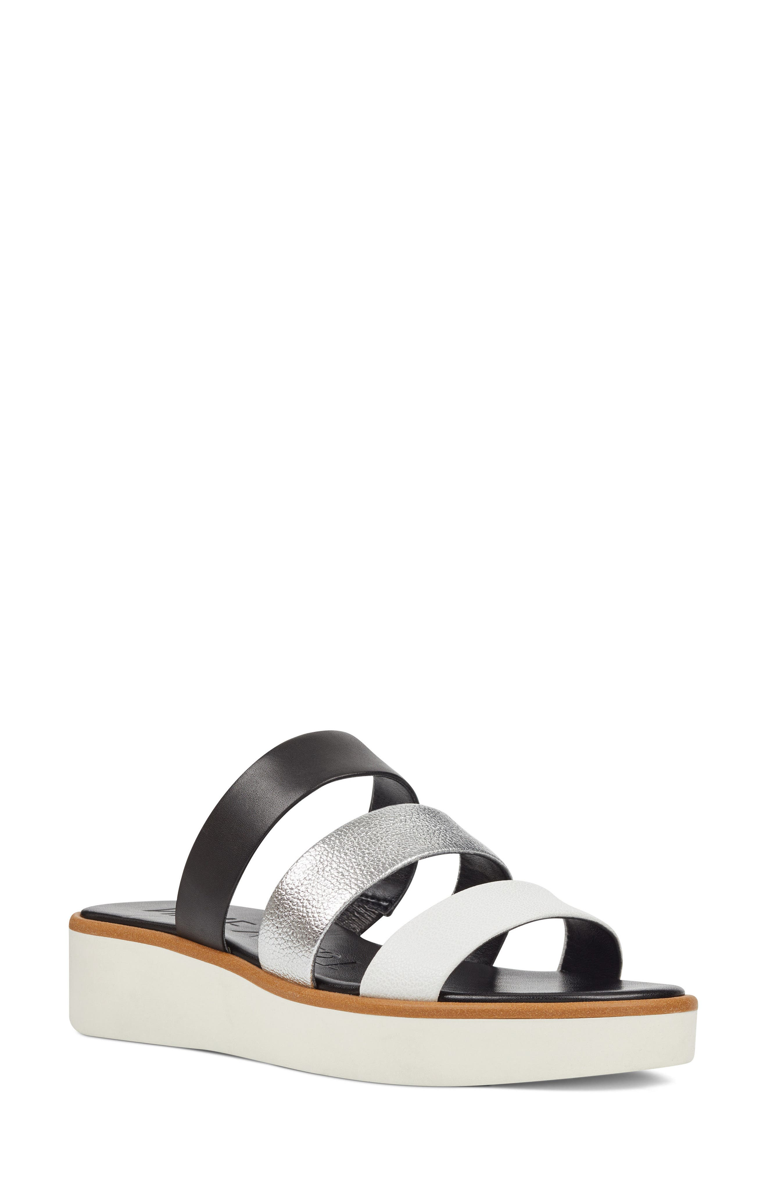 Nine West Zoili Platform Slide Sandal (Women)