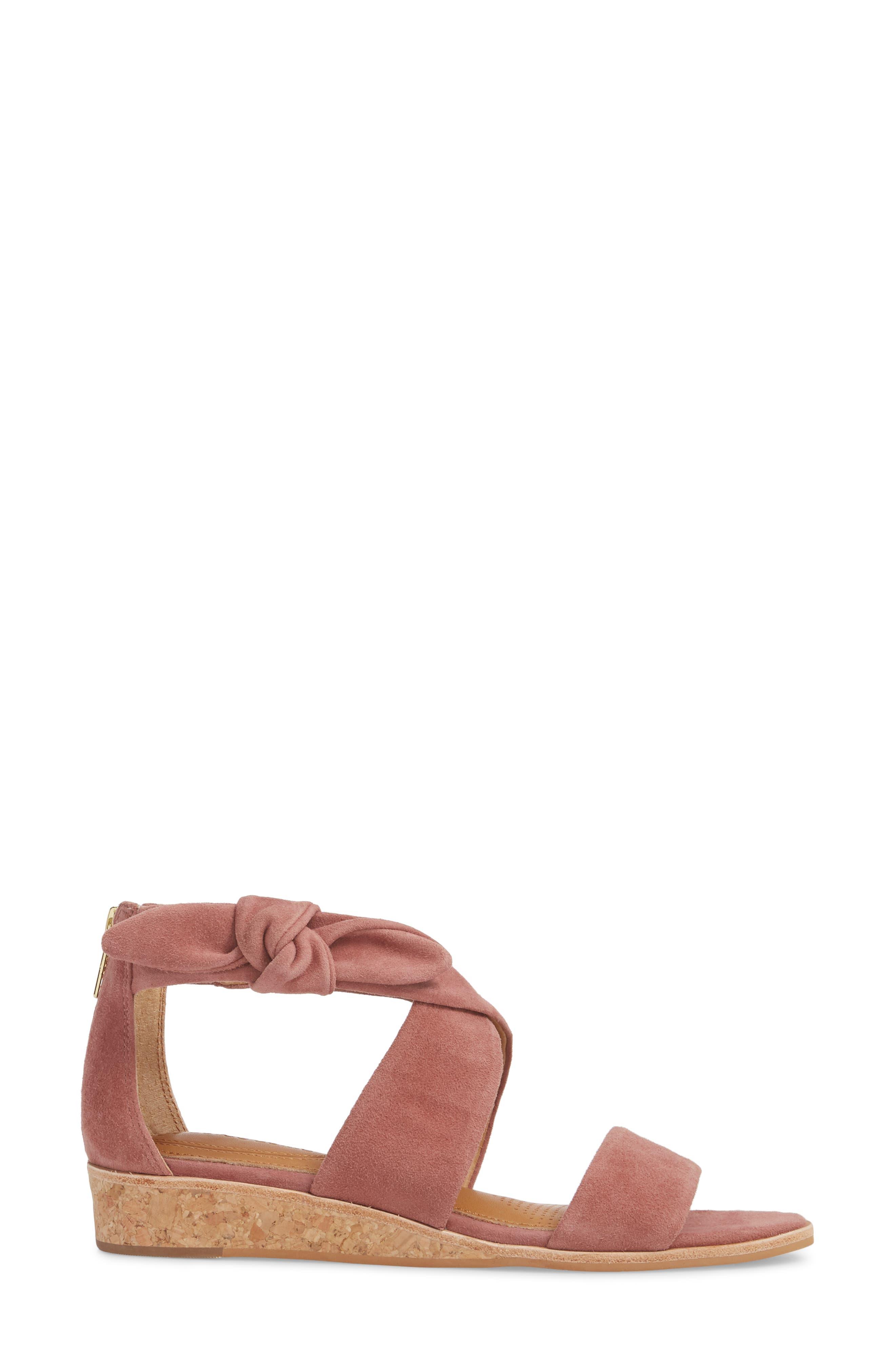 Rasque Sandal,                             Alternate thumbnail 3, color,                             Old Rose Leather