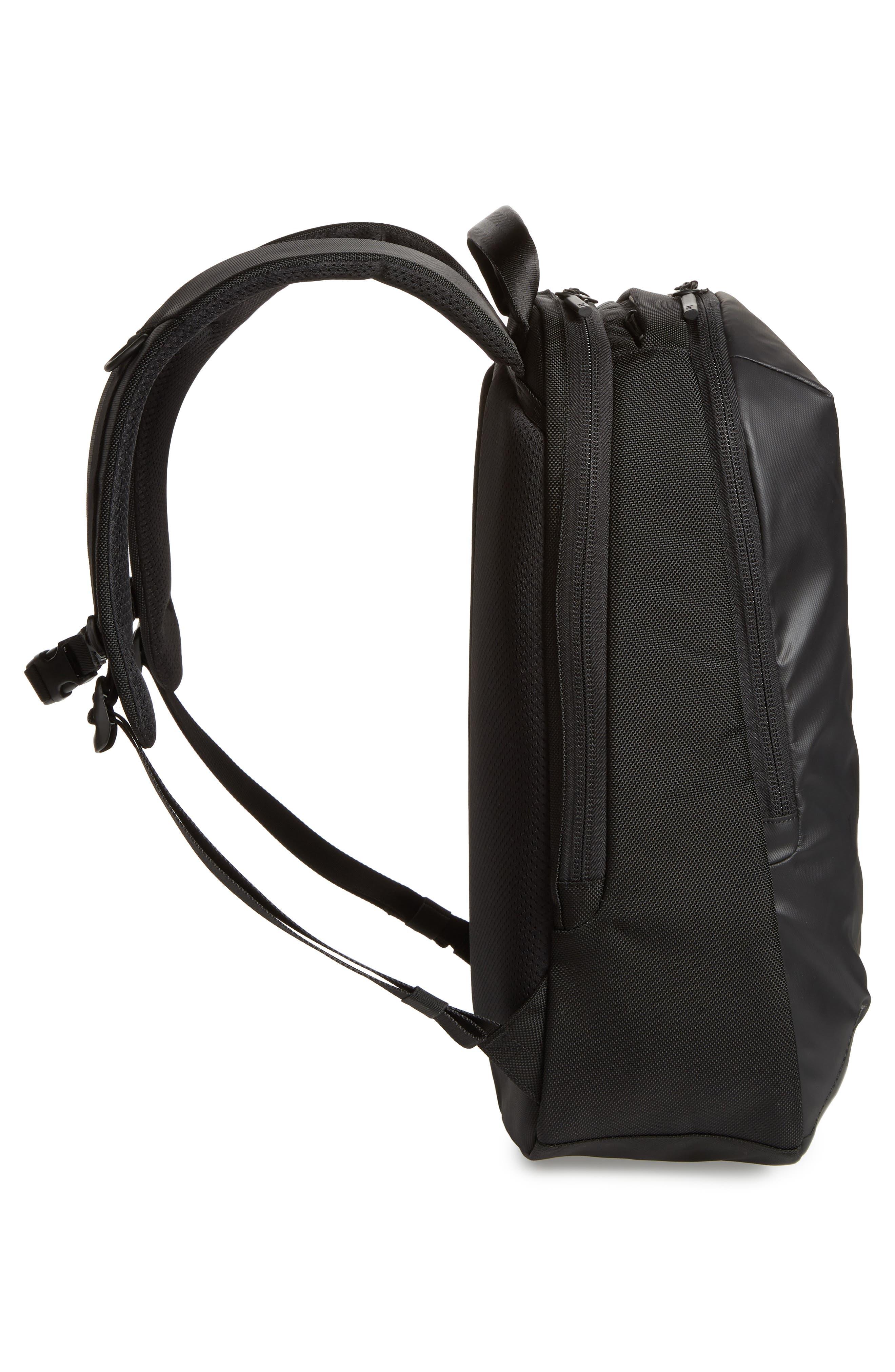 Work Day Backpack,                             Alternate thumbnail 5, color,                             Black