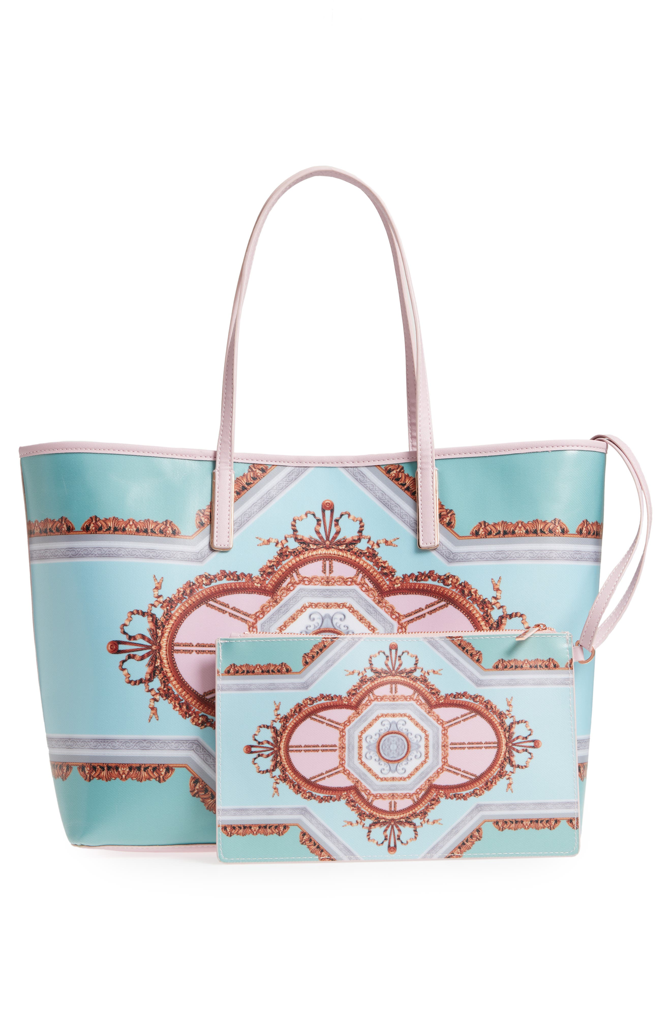 Alternate Image 3  - Ted Baker London Voletta Versailles Print Canvas Tote