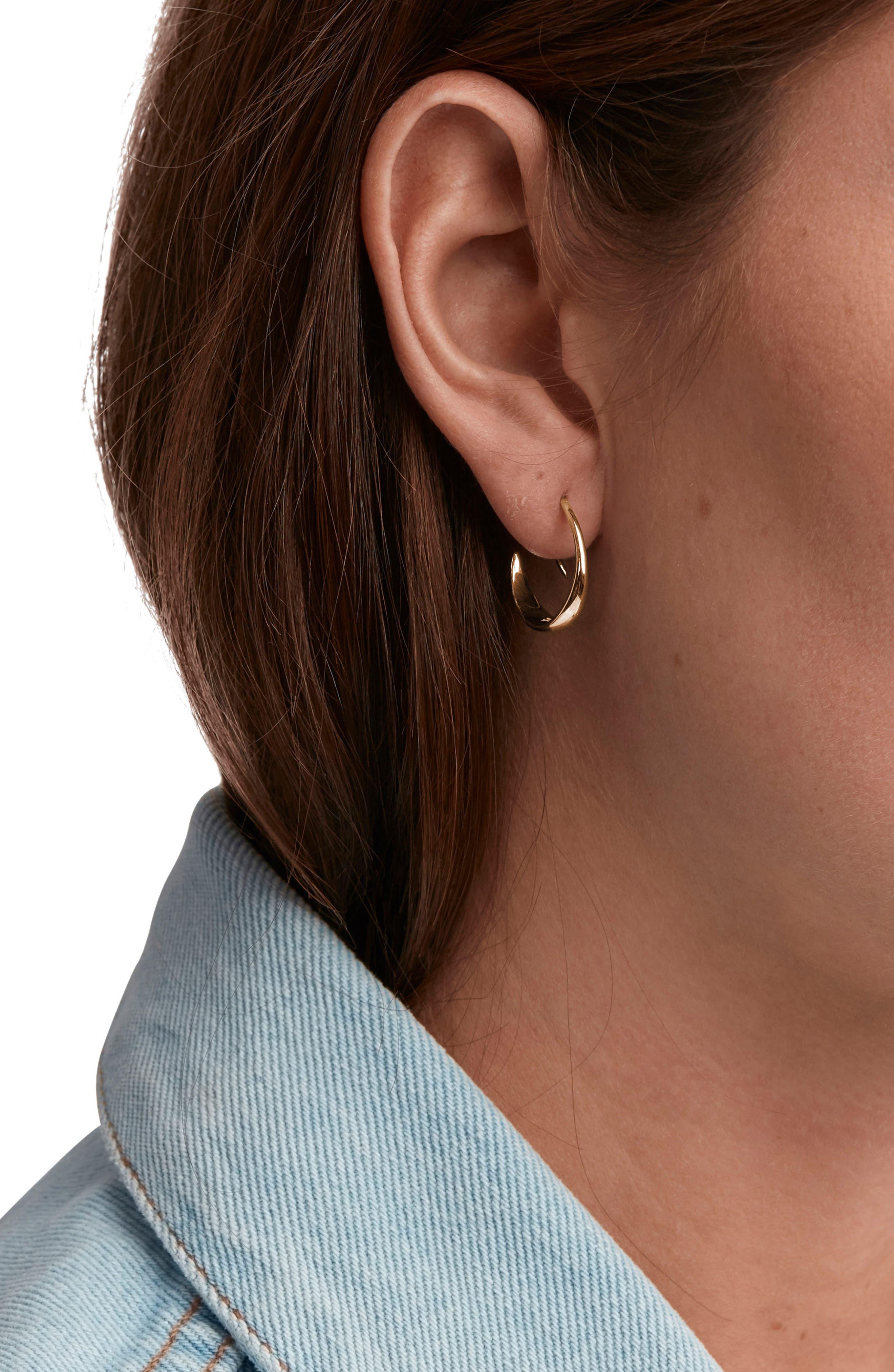 Alternate Image 2  - Tom Wood Ear Loop Earrings