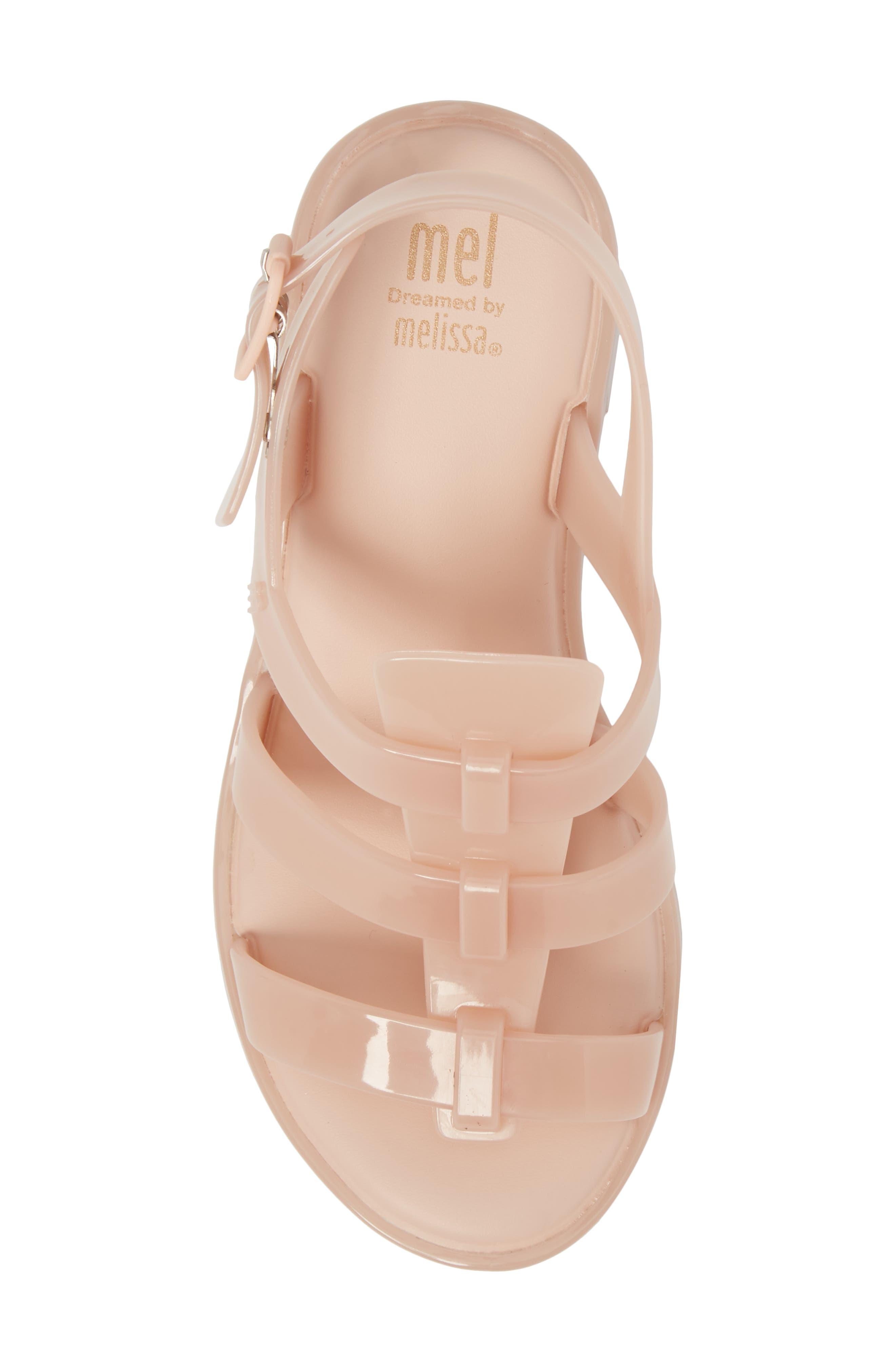 'Flox' Sandal,                             Alternate thumbnail 5, color,                             Light Pink Matte