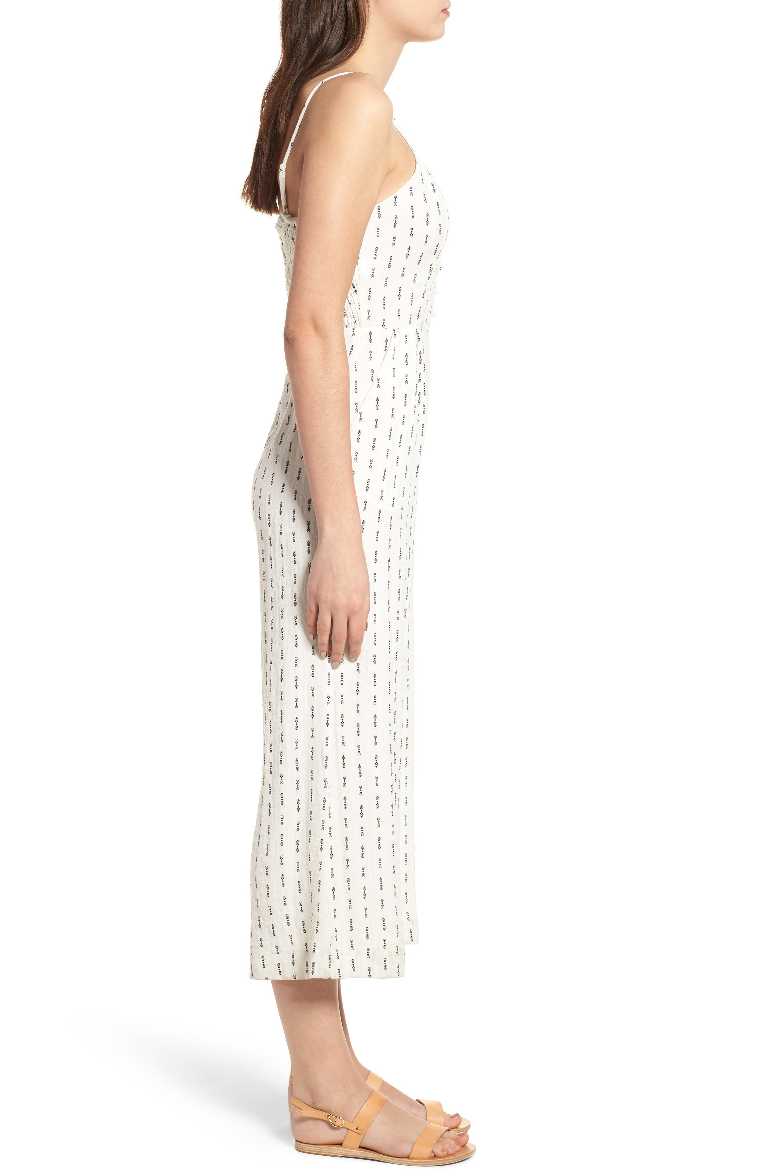 Hollywood Jumpsuit,                             Alternate thumbnail 4, color,                             White