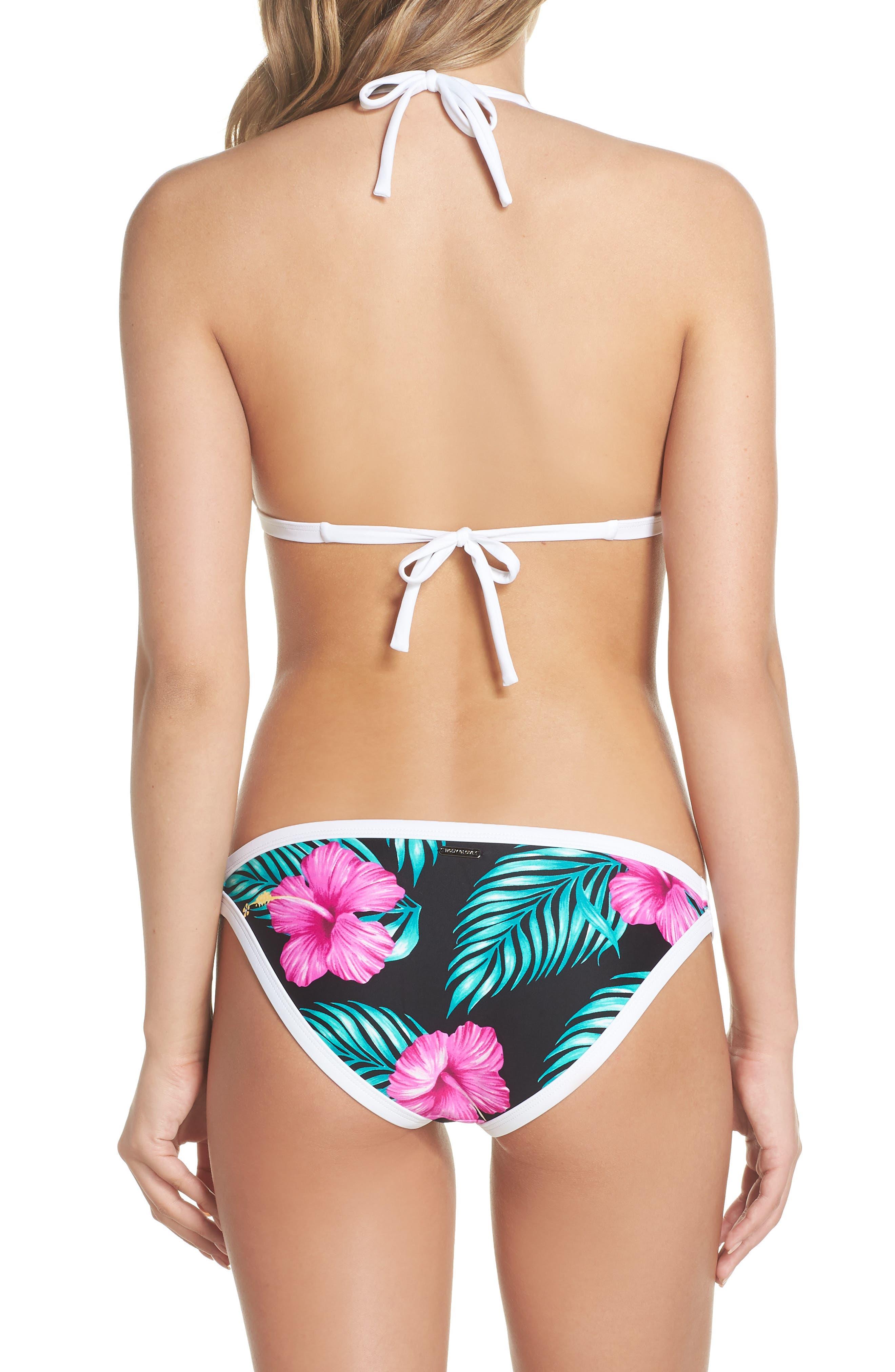 Molokai Love Bikini Top,                             Alternate thumbnail 6, color,                             Black