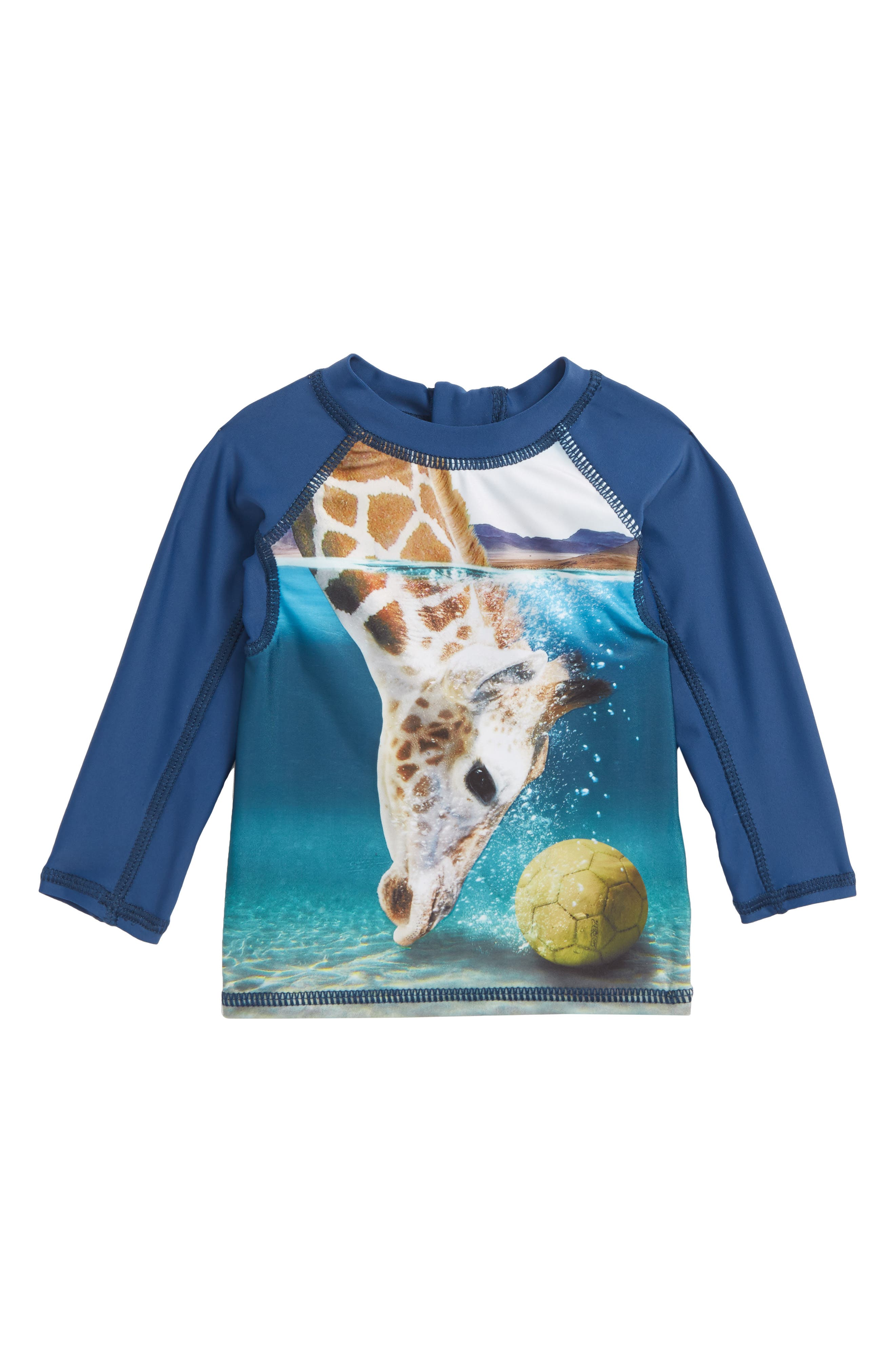 Nemo Rashguard,                             Main thumbnail 1, color,                             Giraffe
