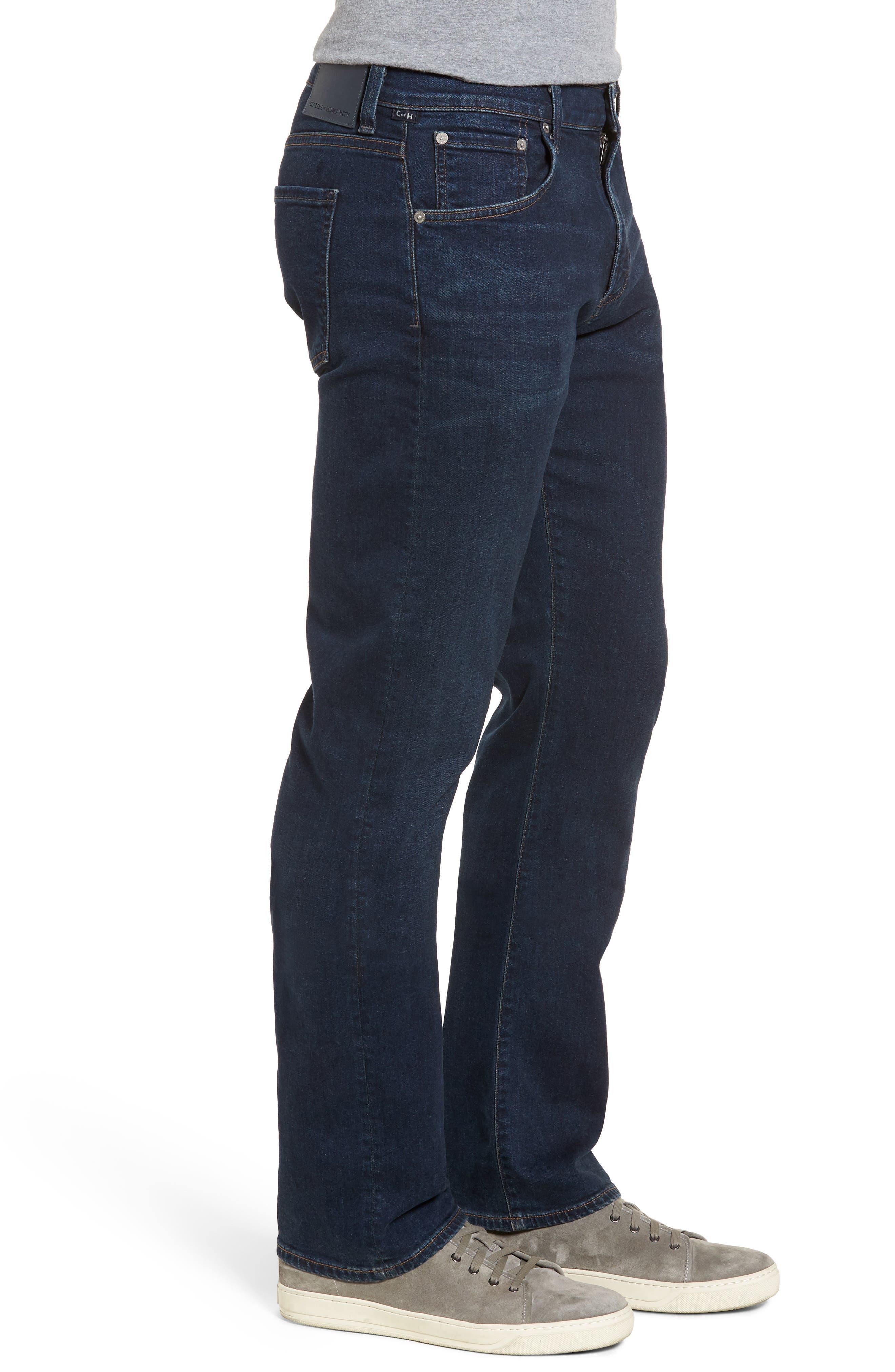 Sid Straight Leg Jeans,                             Alternate thumbnail 3, color,                             Everson