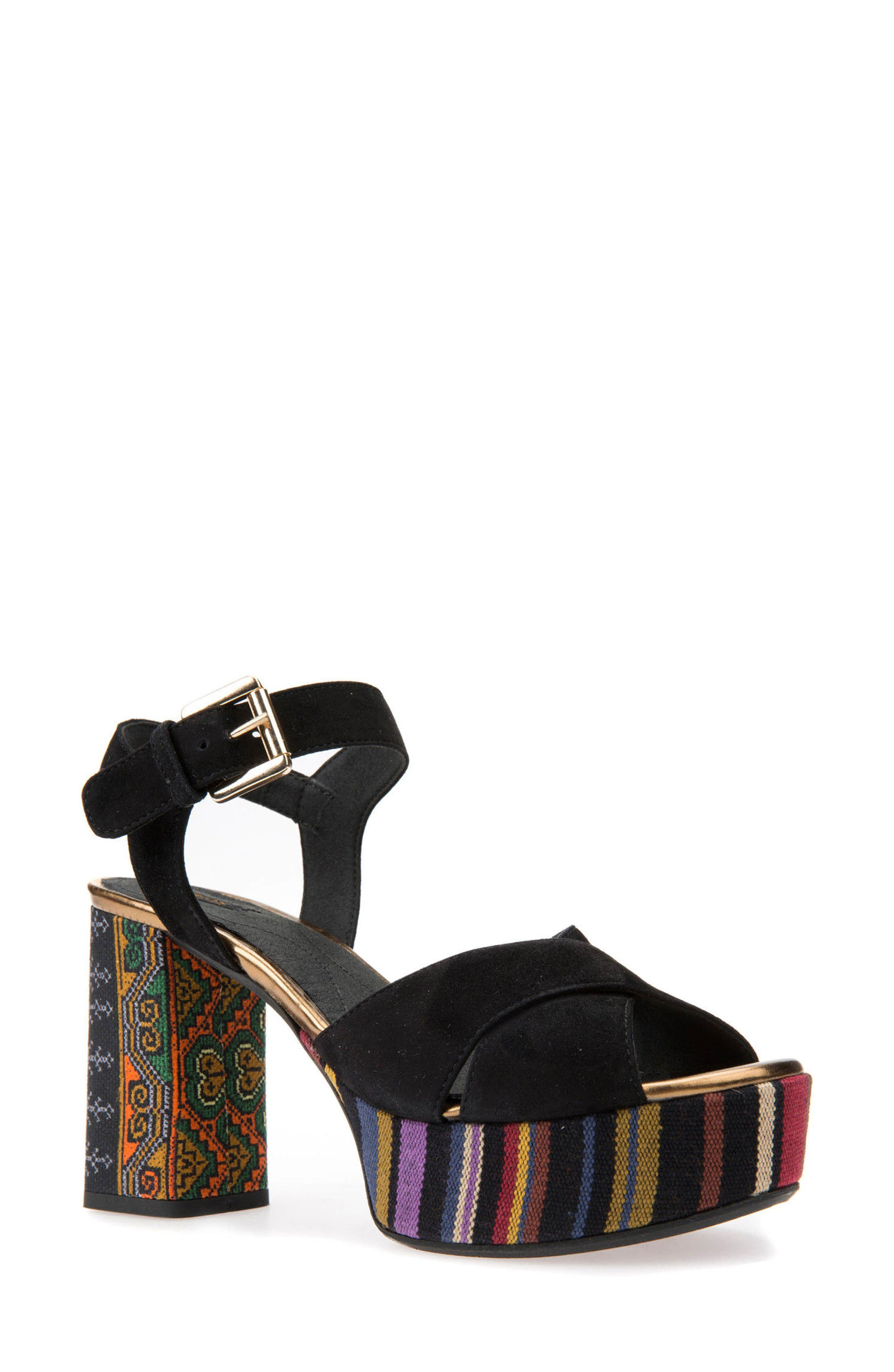 Geox Galene 3 Platform Sandal (Women)