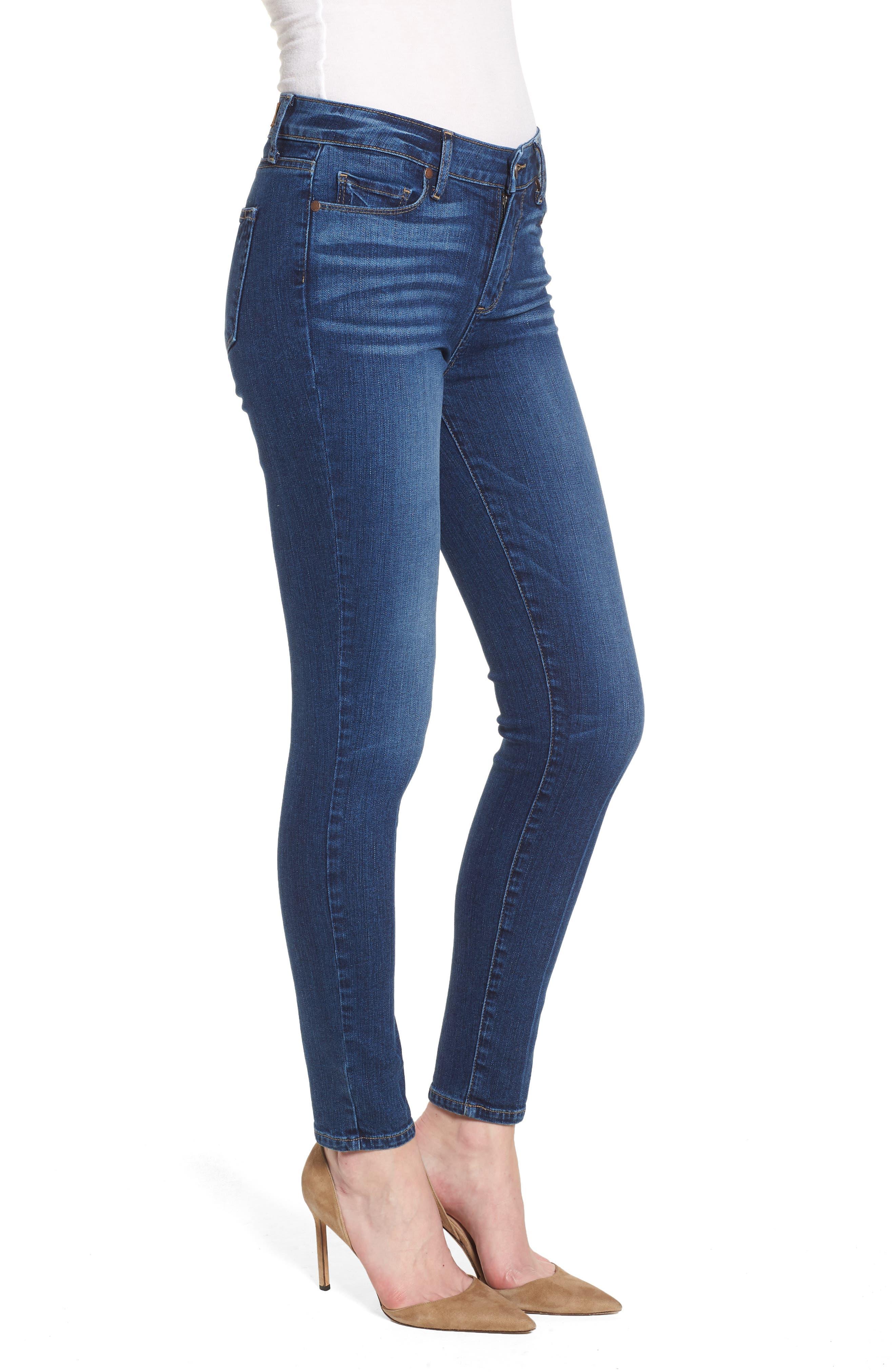 Verdugo Ankle Skinny Jeans,                             Alternate thumbnail 3, color,                             Salida