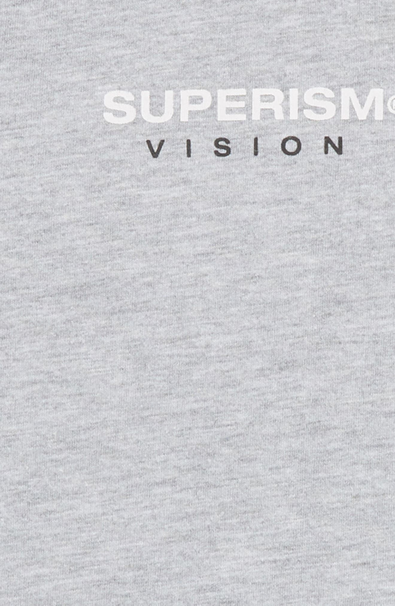 Rose Vision T-Shirt,                             Alternate thumbnail 3, color,                             Heather Grey