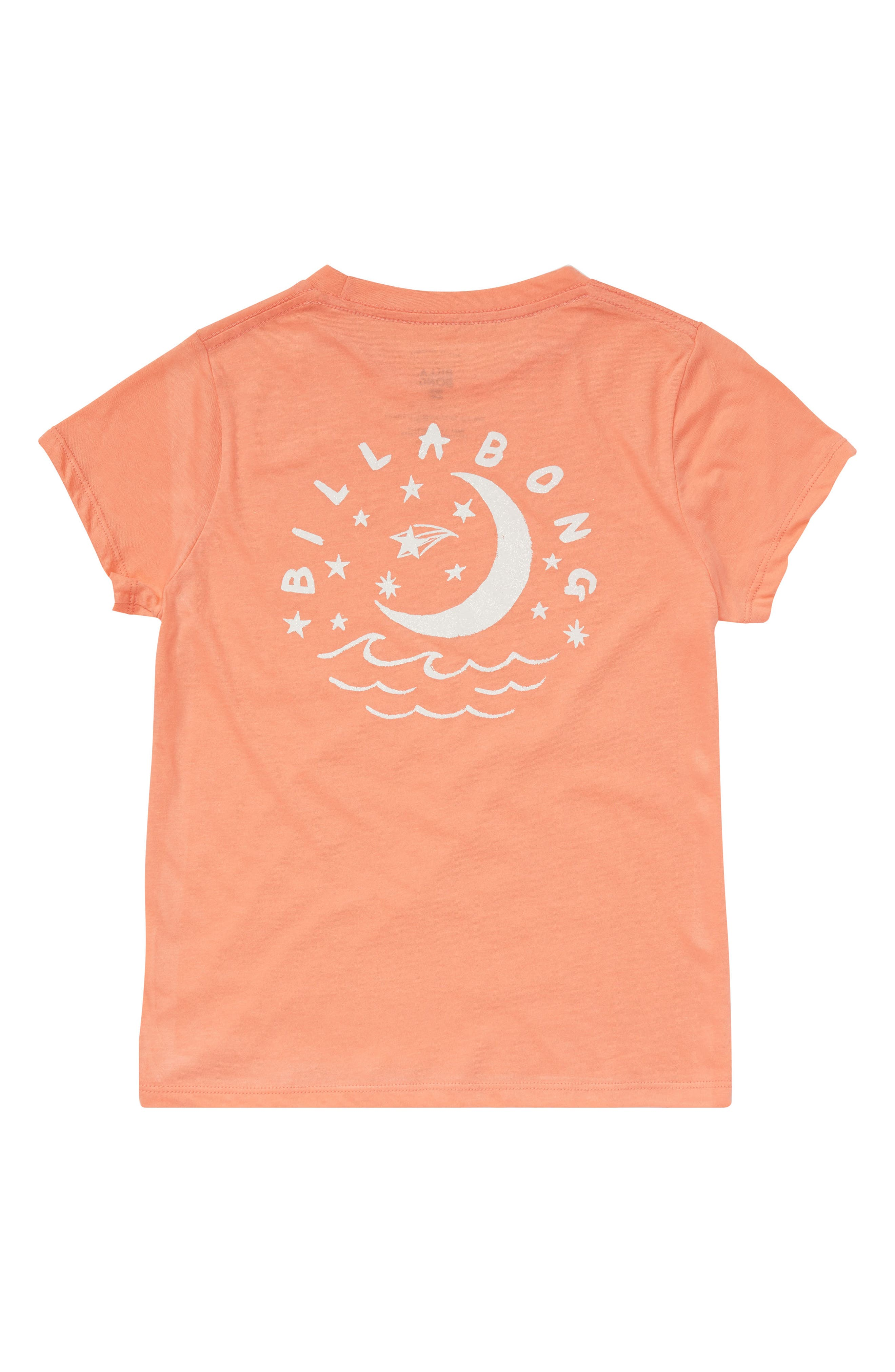 Night Sky Graphic Tee,                             Alternate thumbnail 2, color,                             Sunkissed Coral