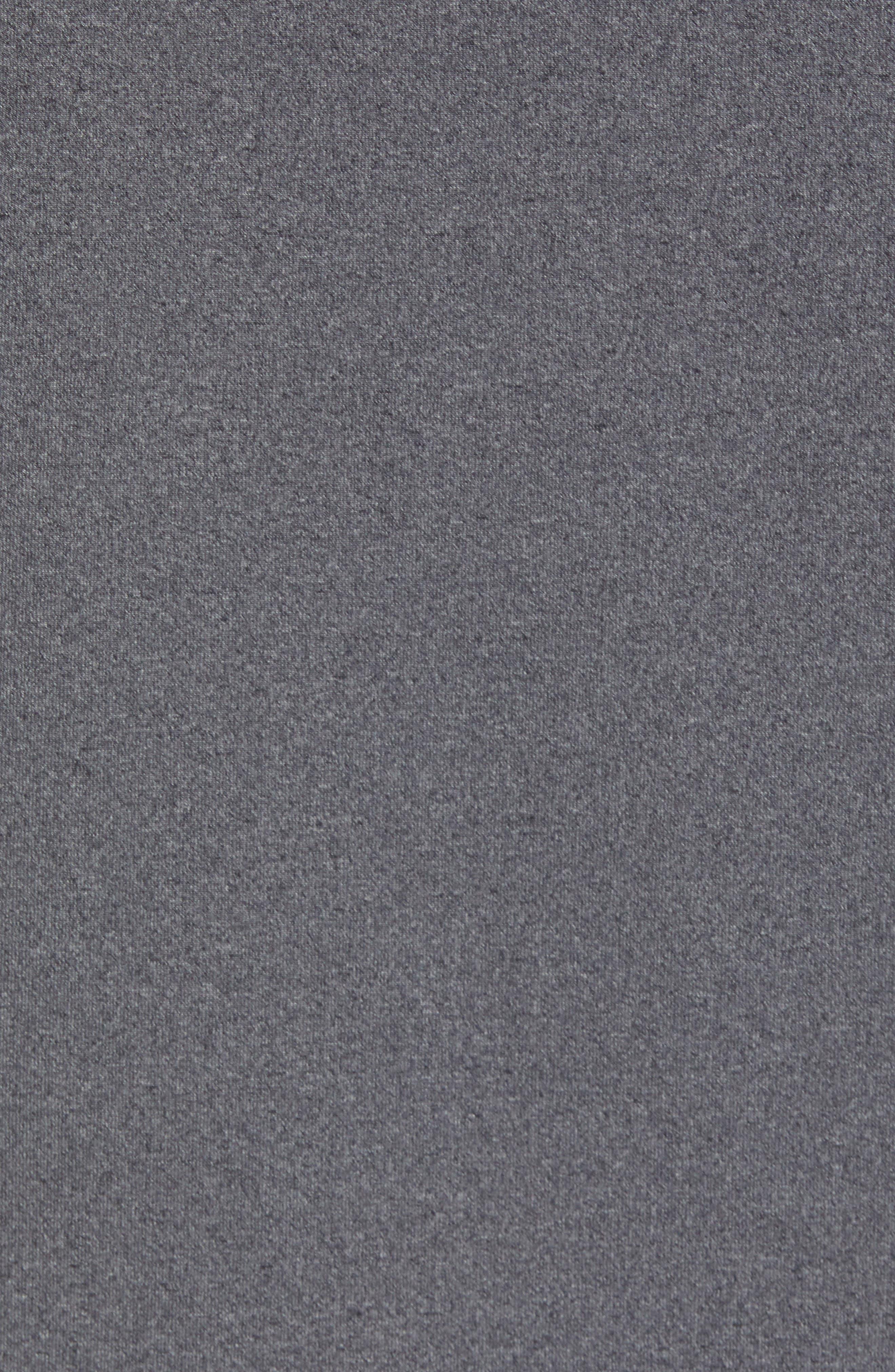 Active Sleeveless Hoodie,                             Alternate thumbnail 5, color,                             Grey Obsidian Melange