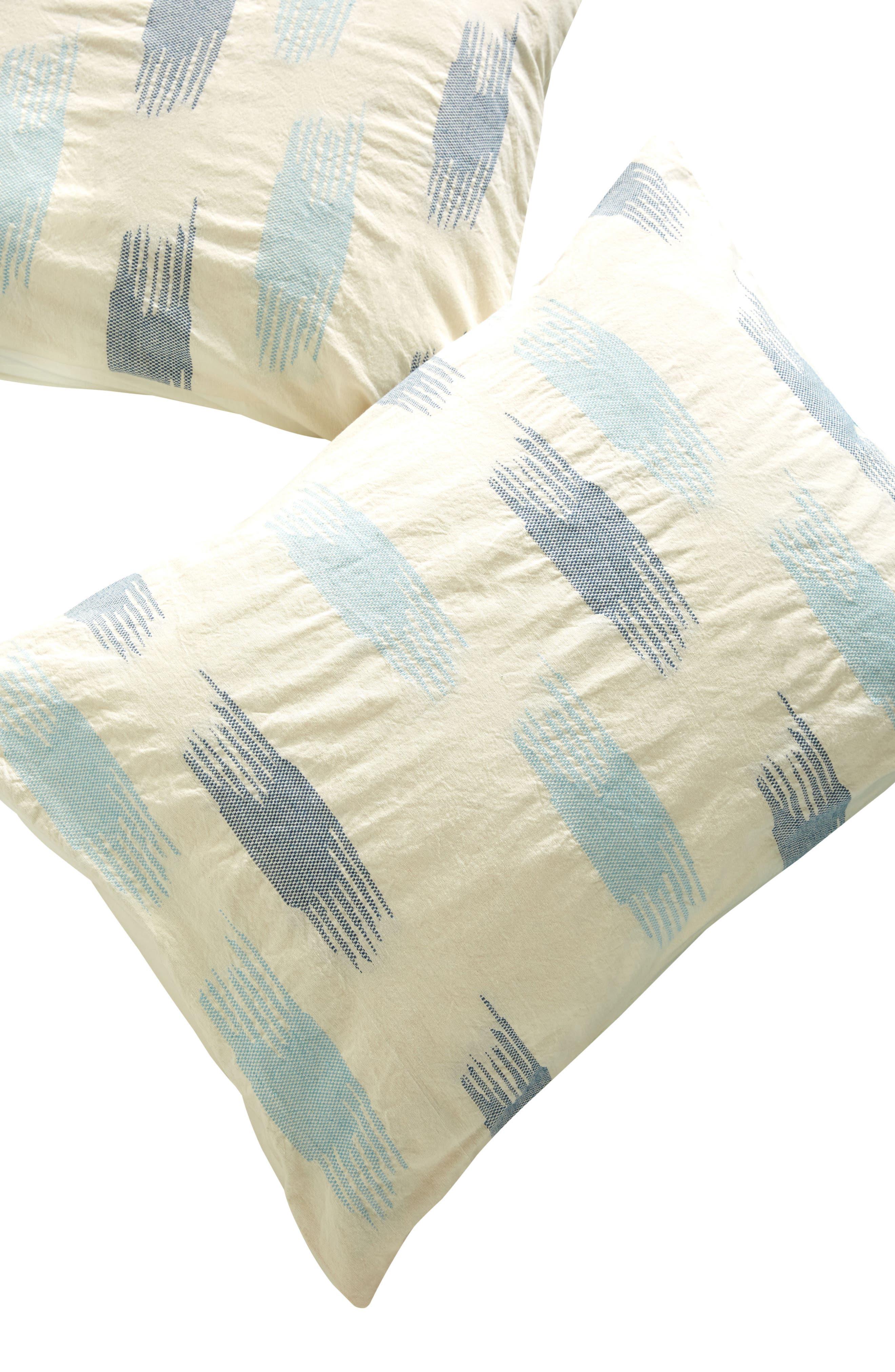 Alternate Image 3  - Anthropologie Woven Calera Pillow Shams
