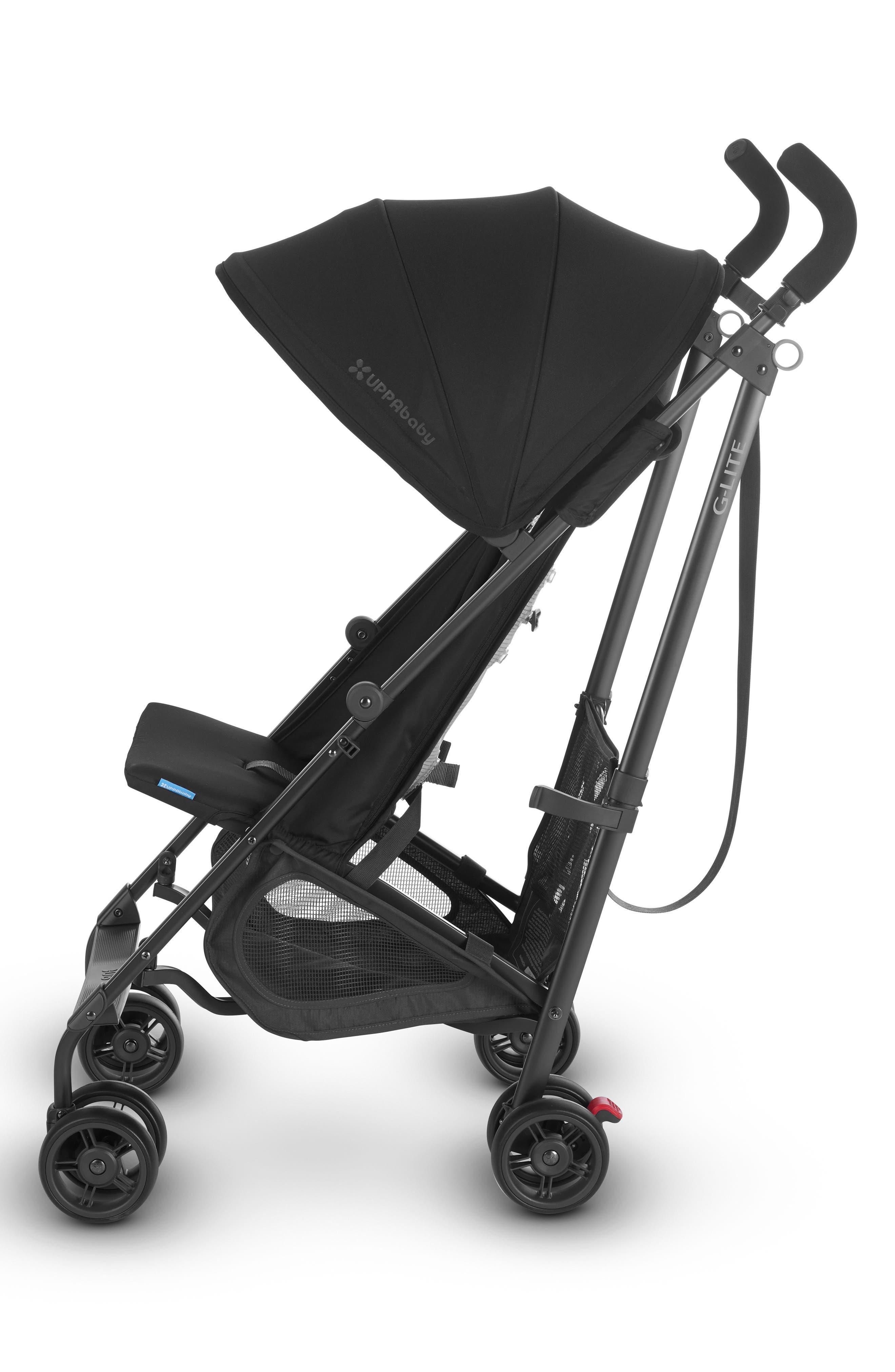 G-LITE 2018 Stroller,                             Alternate thumbnail 4, color,                             Jake Black/ Carbon