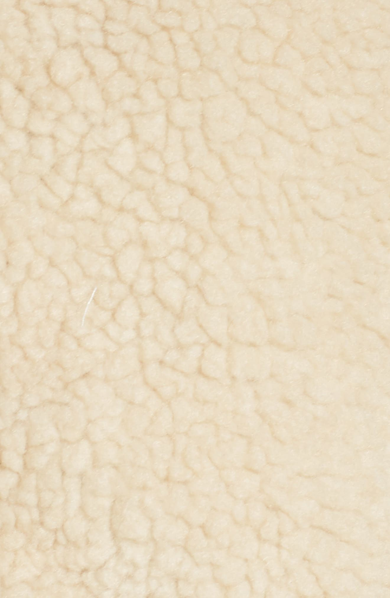 Brea Fleece Jacket,                             Alternate thumbnail 6, color,                             Natural