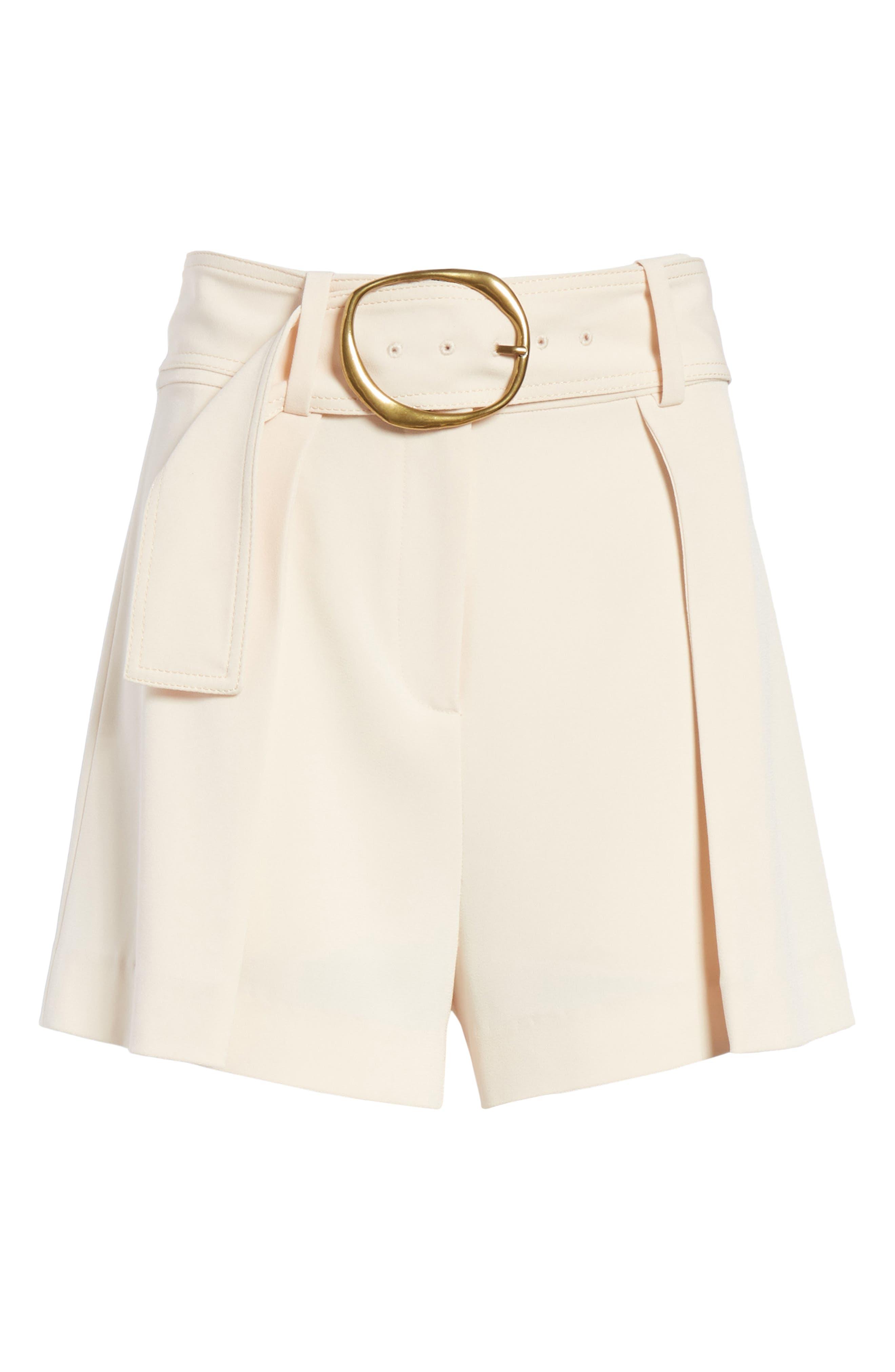 Belted Shorts,                             Alternate thumbnail 6, color,                             Sandstone