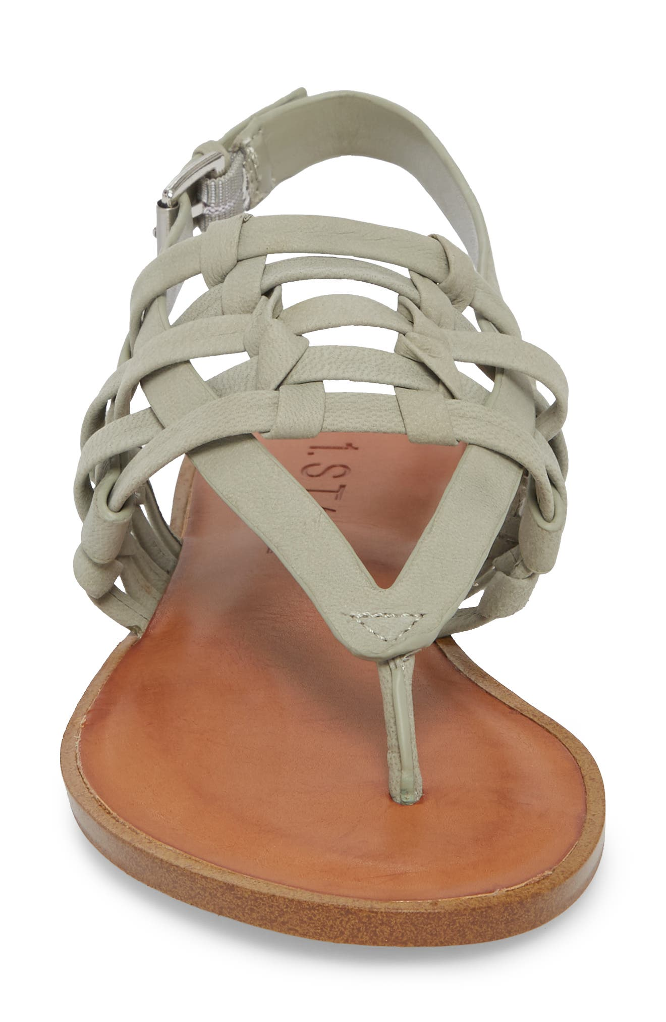 Lenn Sandal,                             Alternate thumbnail 4, color,                             Nettle Nubuck Leather
