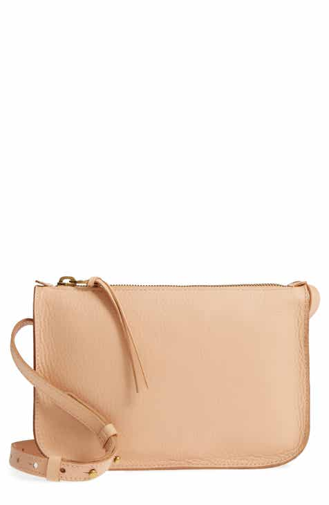 Sale Madewell The Simple Leather Crossbody Bag