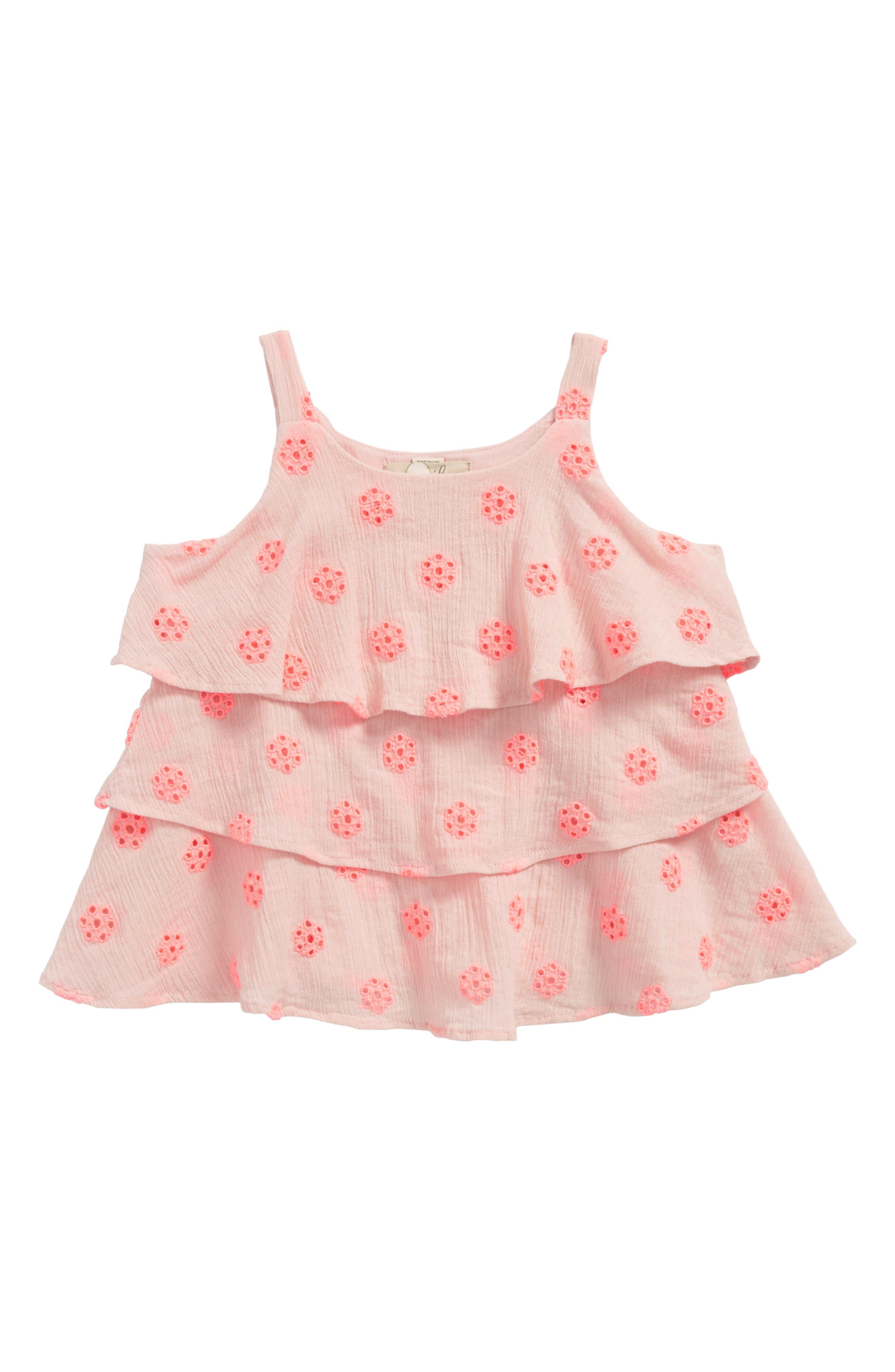 Peek Peri Crochet Top (Toddler Girls, Little Girls & Big Girls)