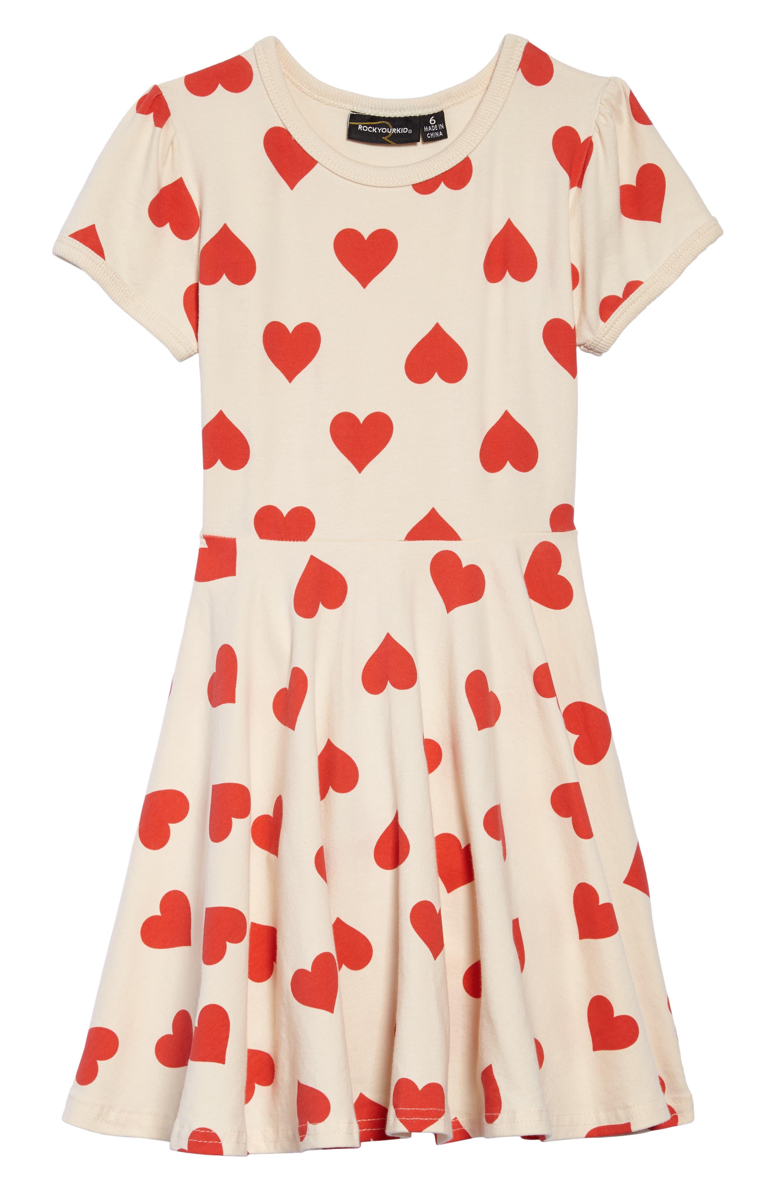 Main Image - Rock Your Kid Sweetheart Dress (Toddler Girls & Little Girls)