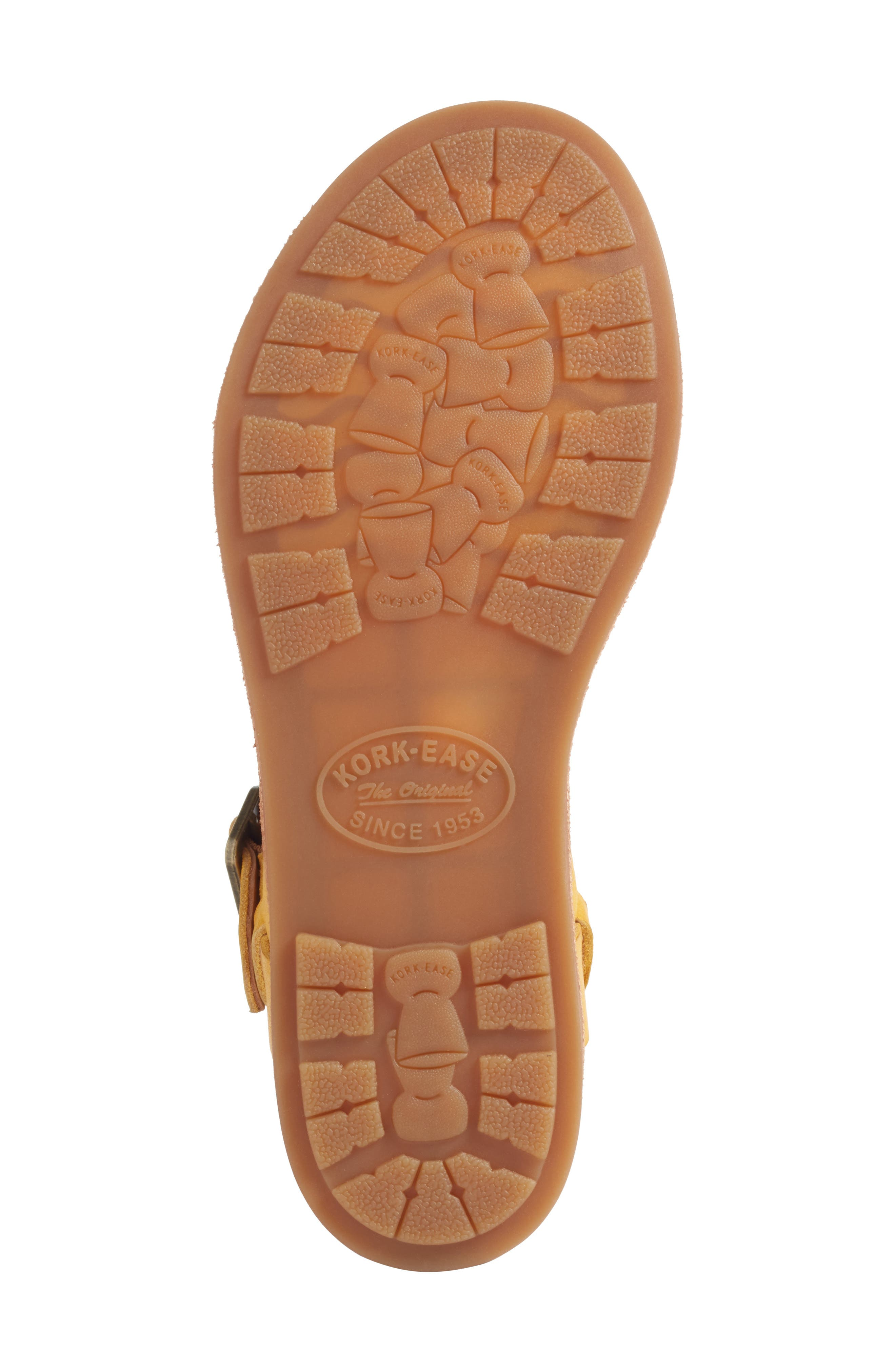 Yucca Braid Sandal,                             Alternate thumbnail 6, color,                             Yellow Leather