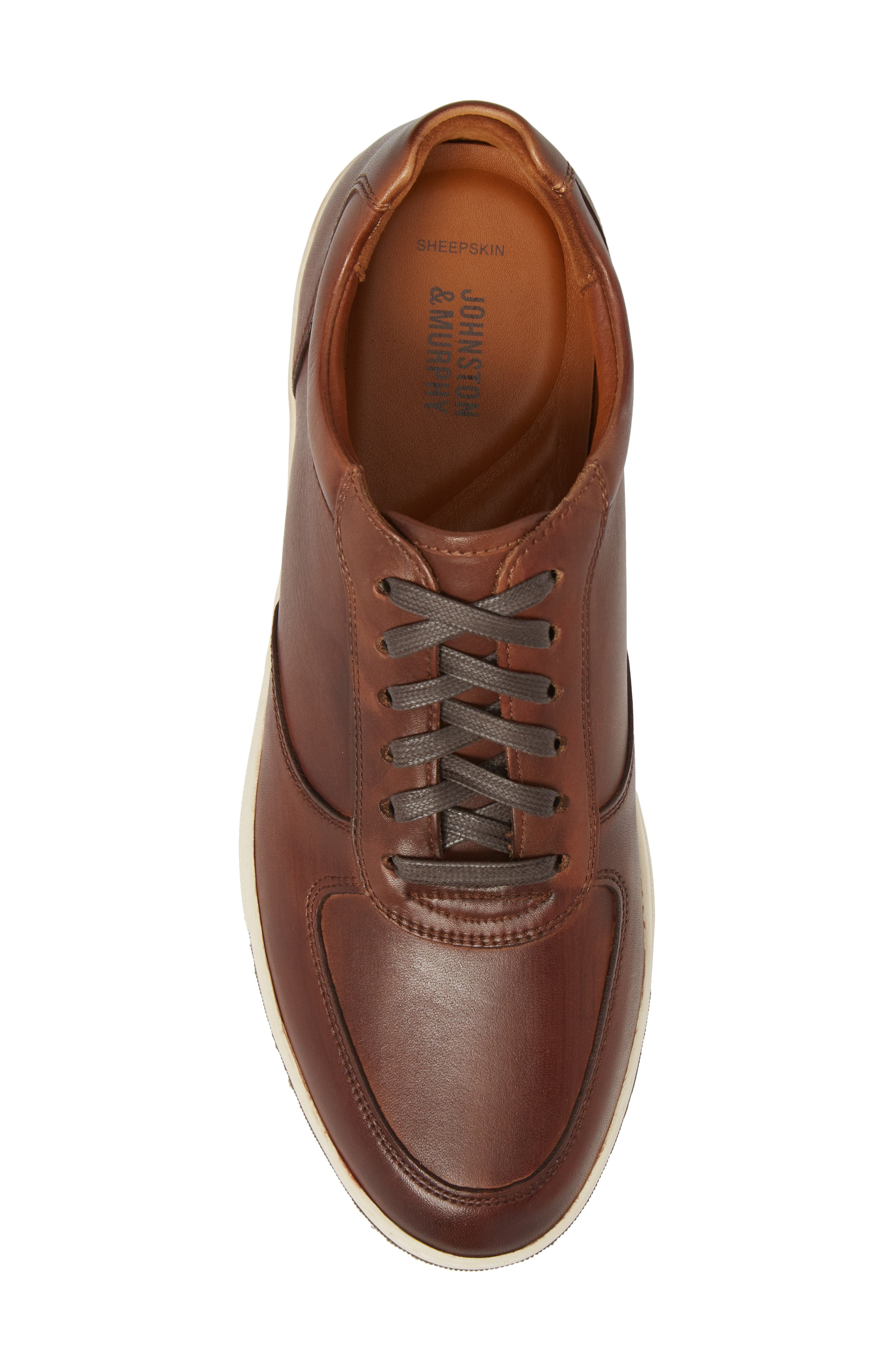 Alternate Image 5  - Johnston & Murphy Fenton Low Top Sneaker (Men)