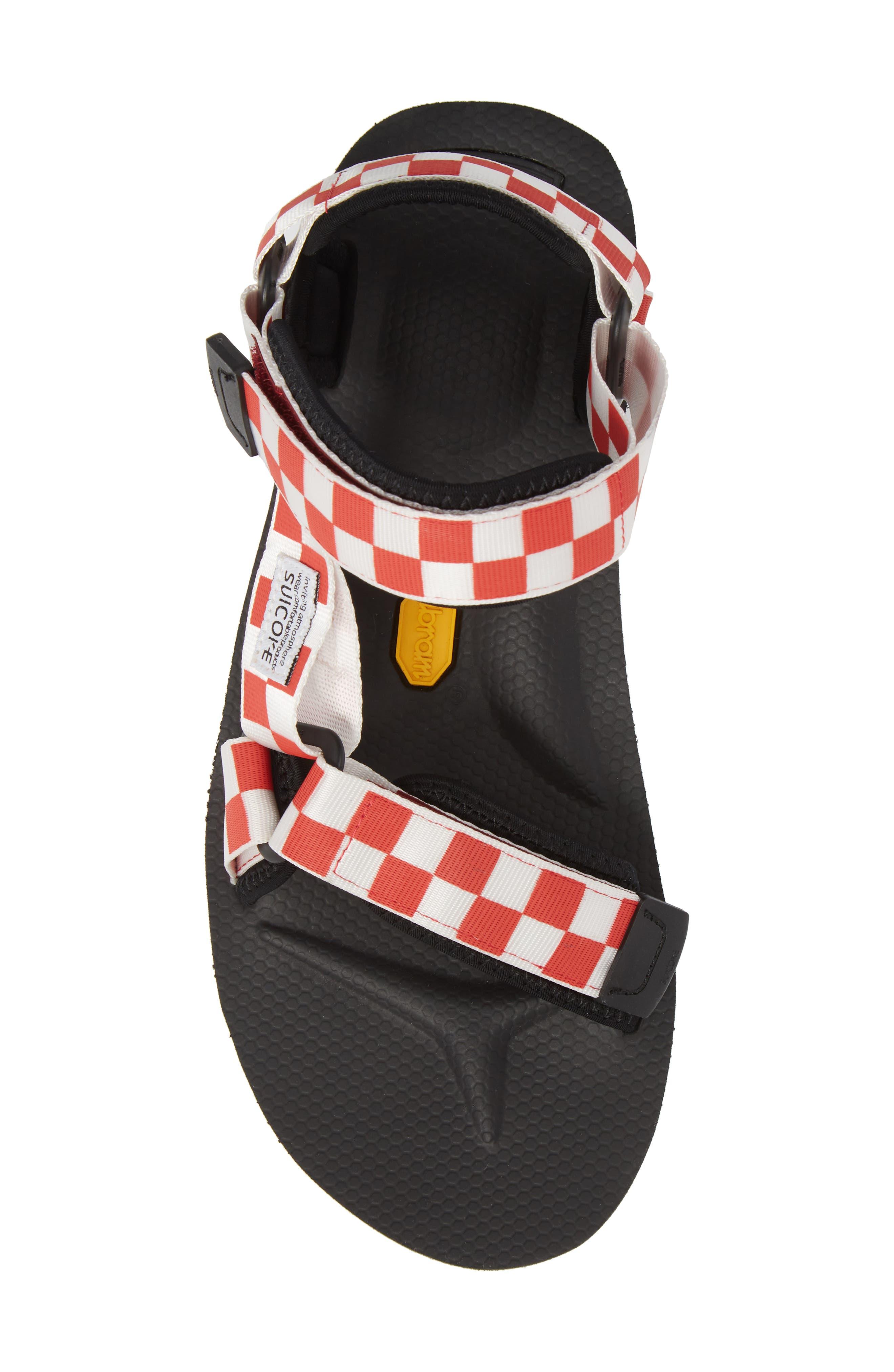 Depa Sport Sandal,                             Alternate thumbnail 5, color,                             Red