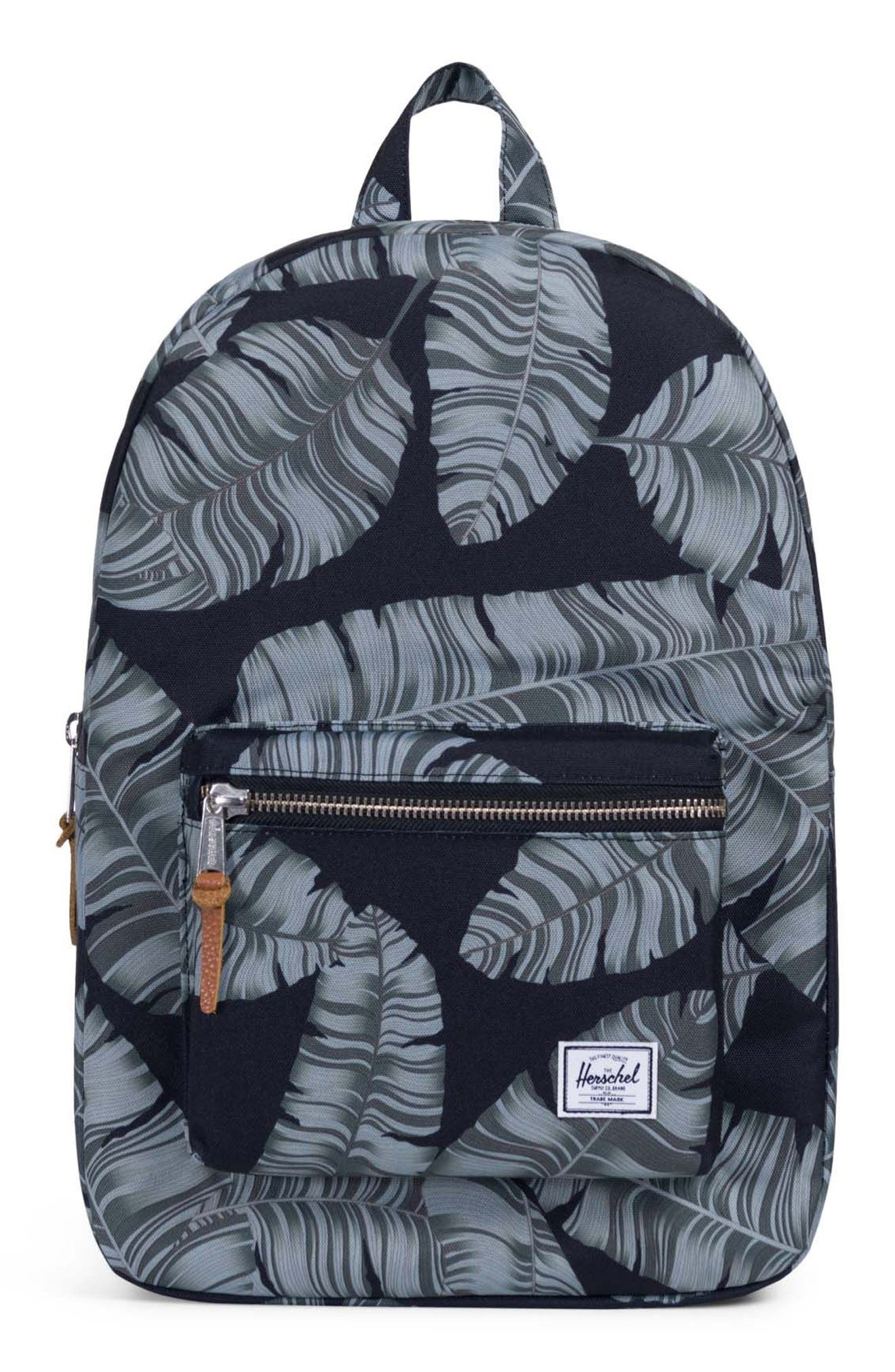 Settlement Aspect Backpack,                             Main thumbnail 1, color,                             Black Palm